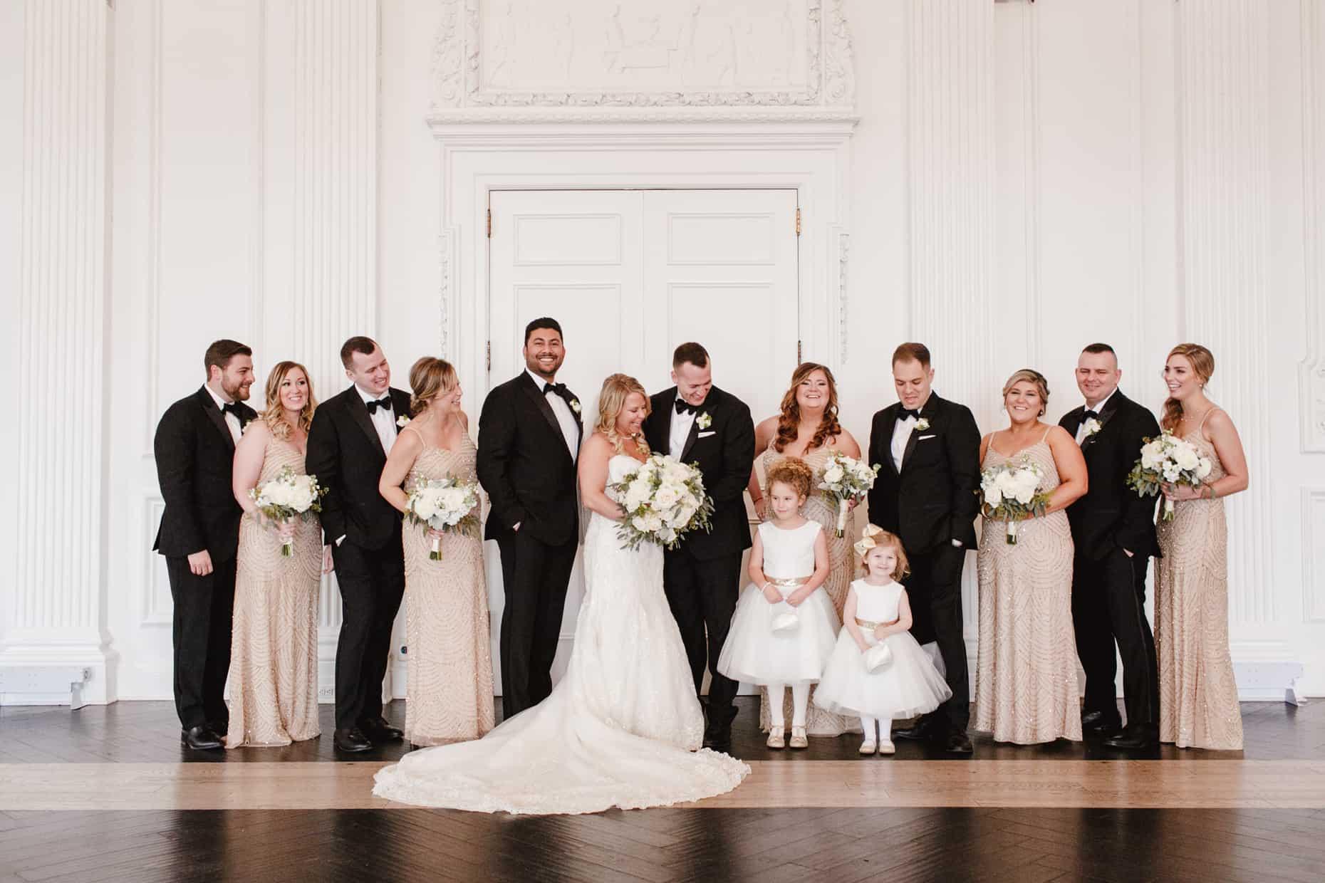 Cescaphe Downtown Club Wedding