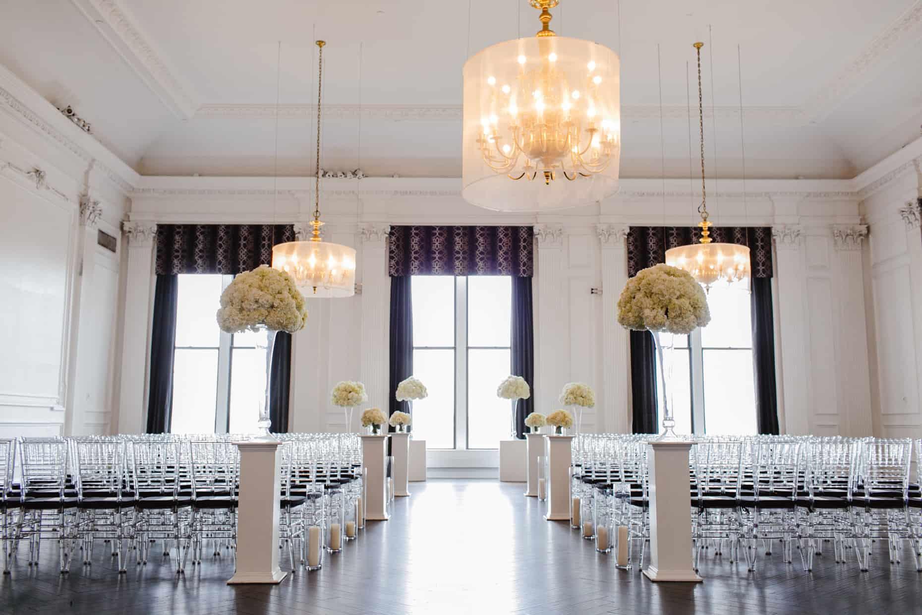 Cescaphe Downtown Club Weddings