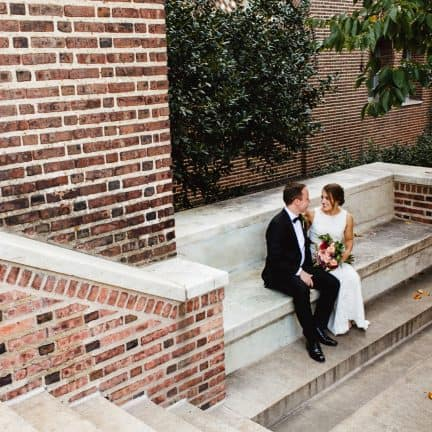 Penn Museum Wedding Picture