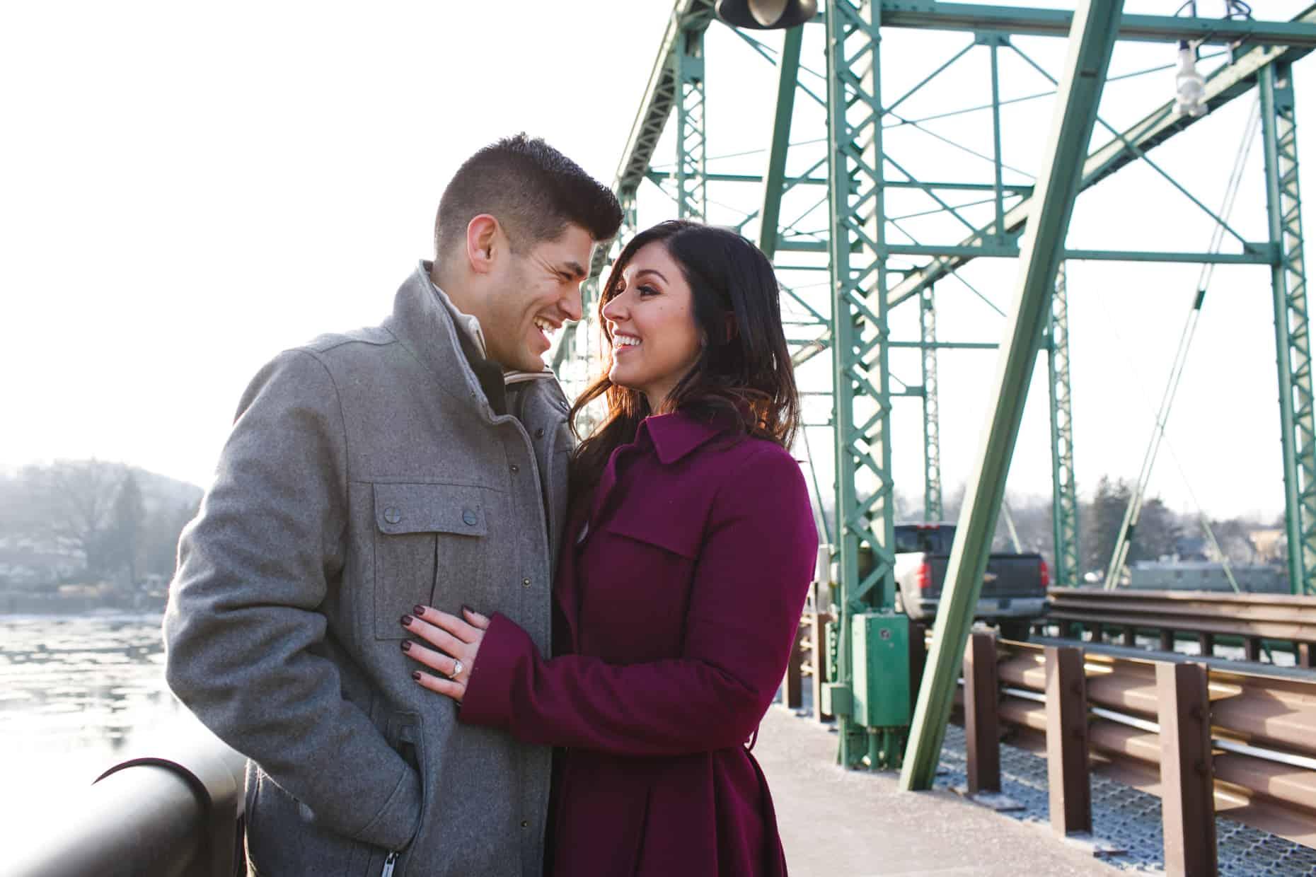 Engagement photographers New Hope
