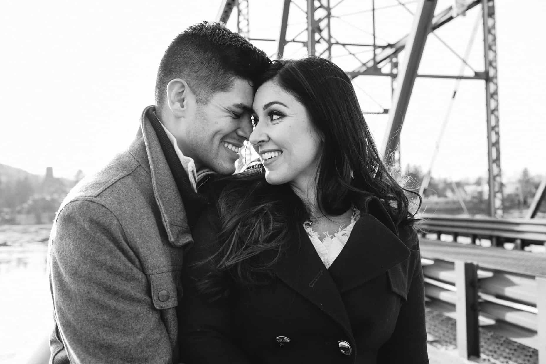 Engagement photographer New Hope