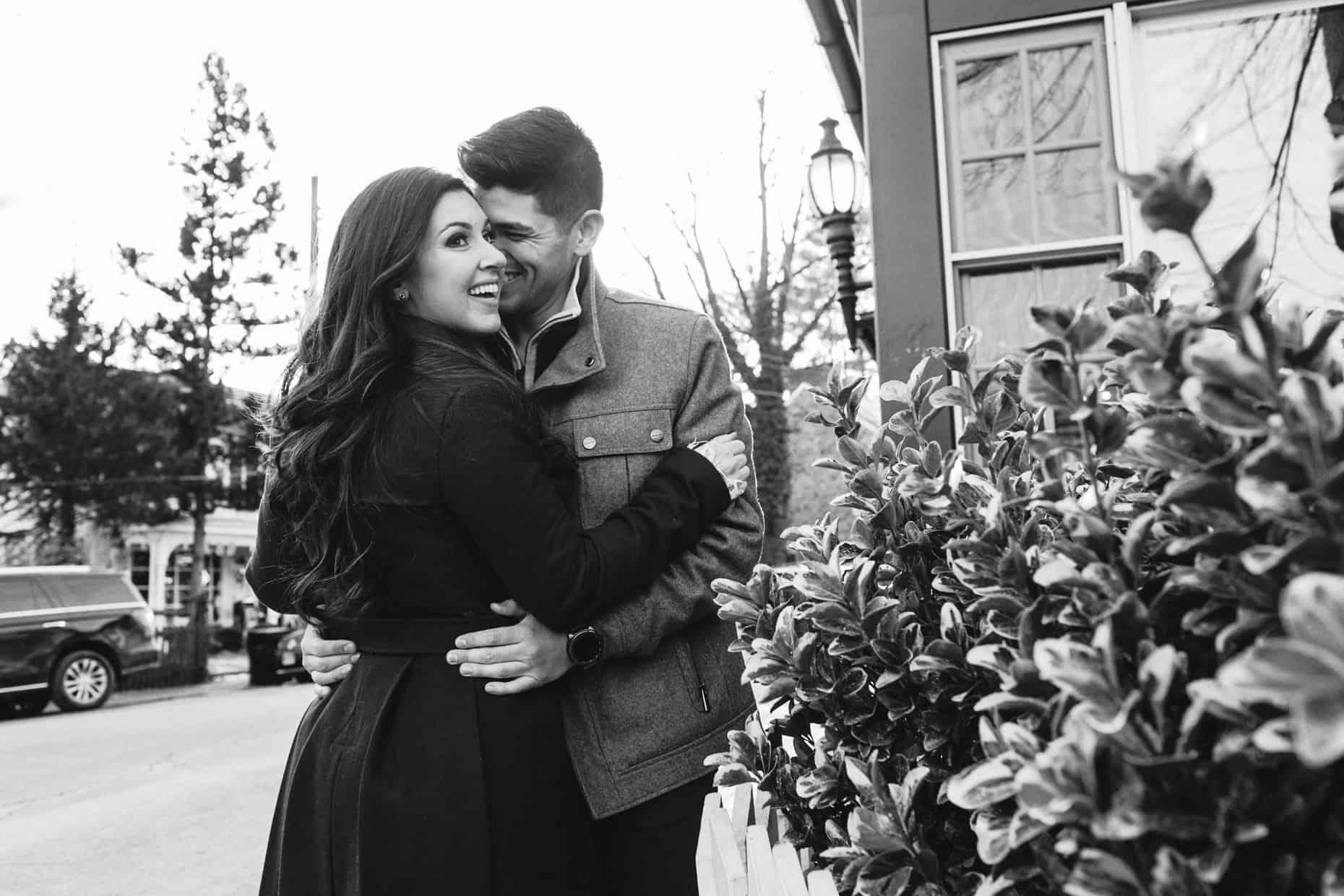 New Hope Engagement Photographer