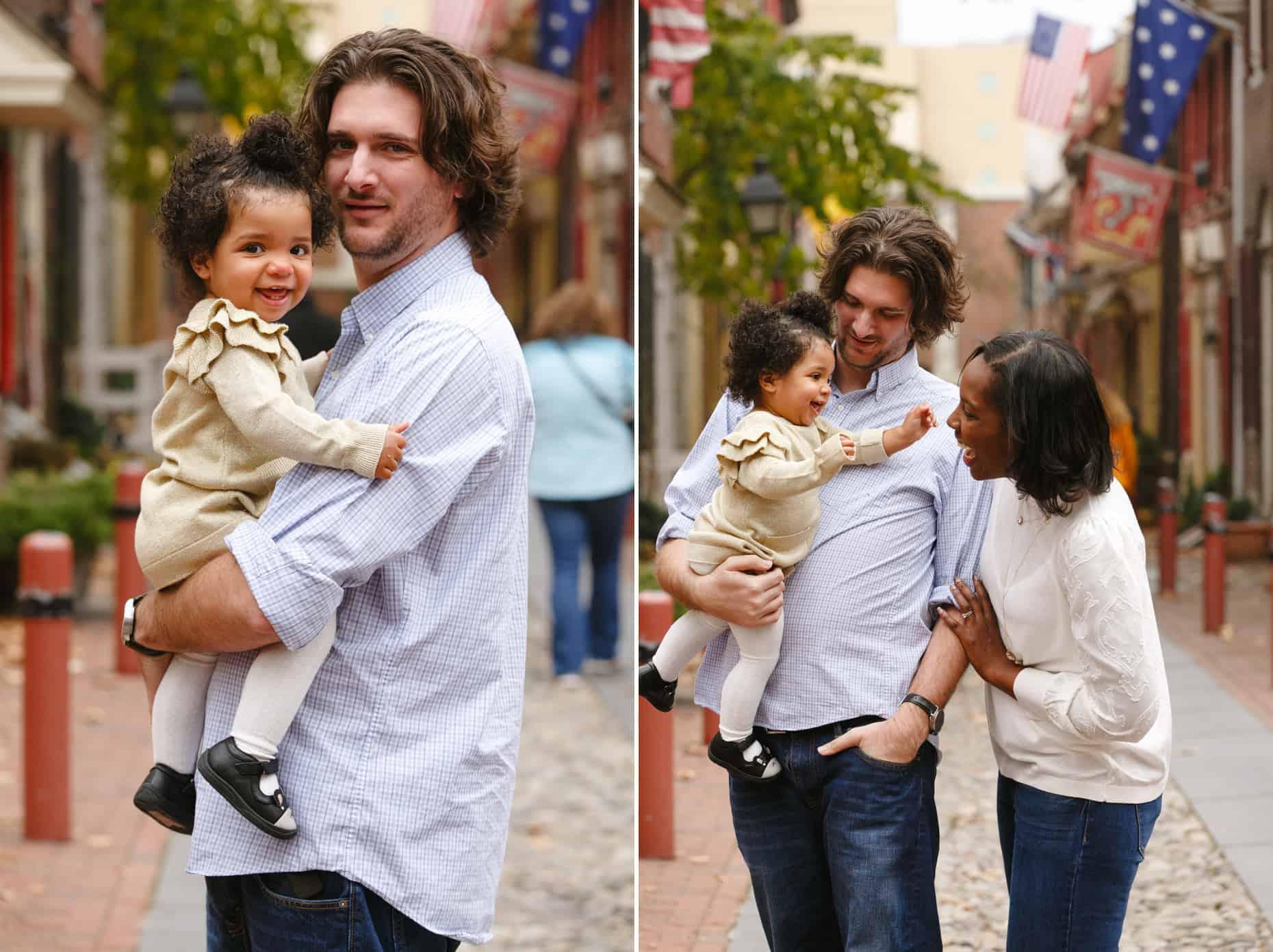 Philadelphia Family Photographer Elphreth's Alley