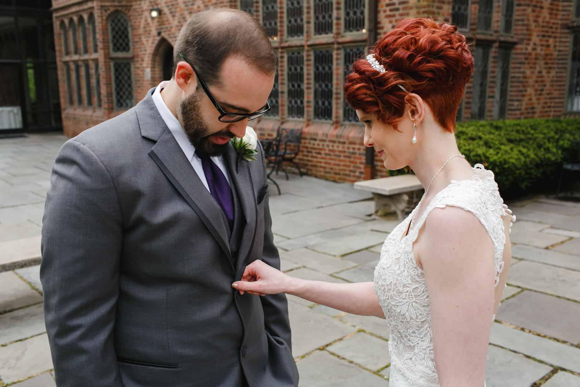 Wedding Ceremony Aldie Mansion