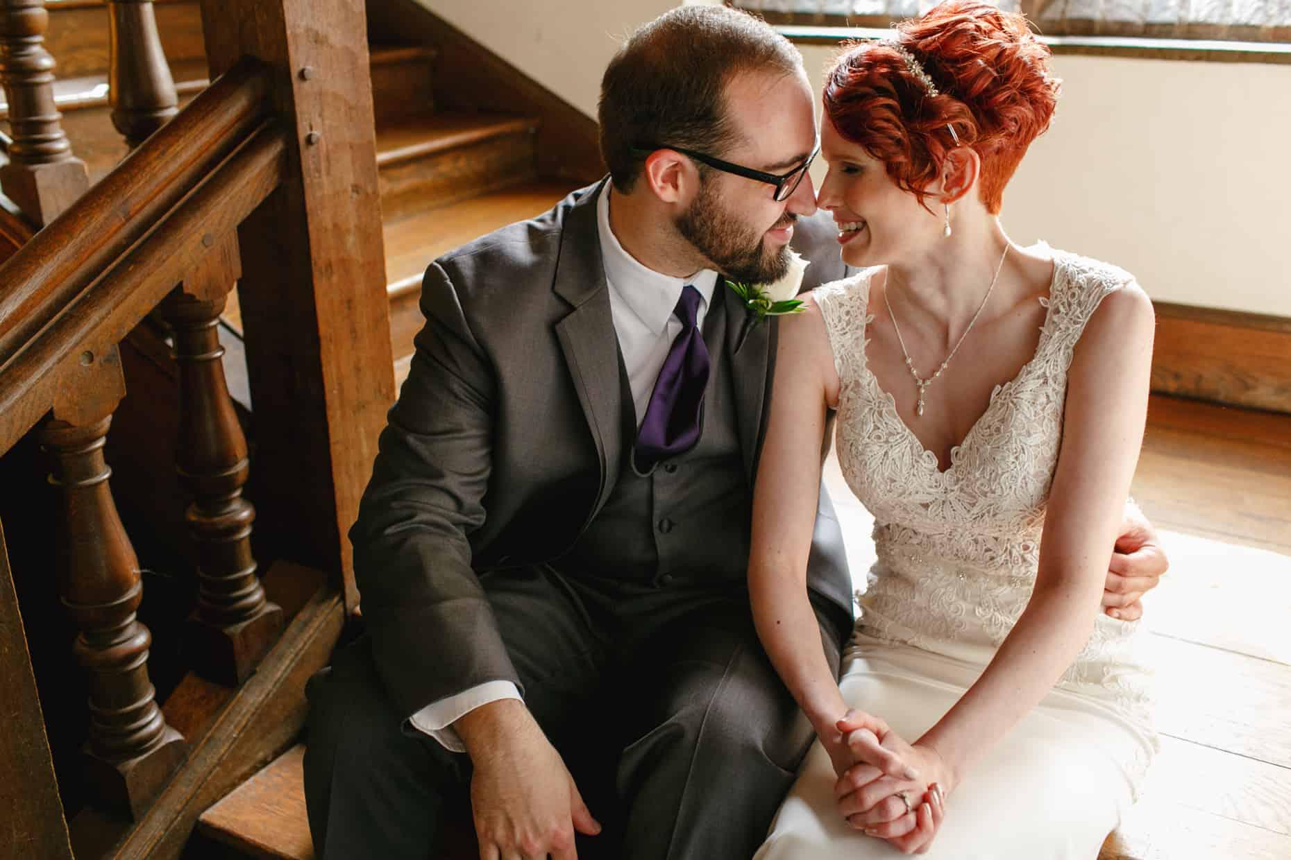 Wedding Picture Aldie Mansion
