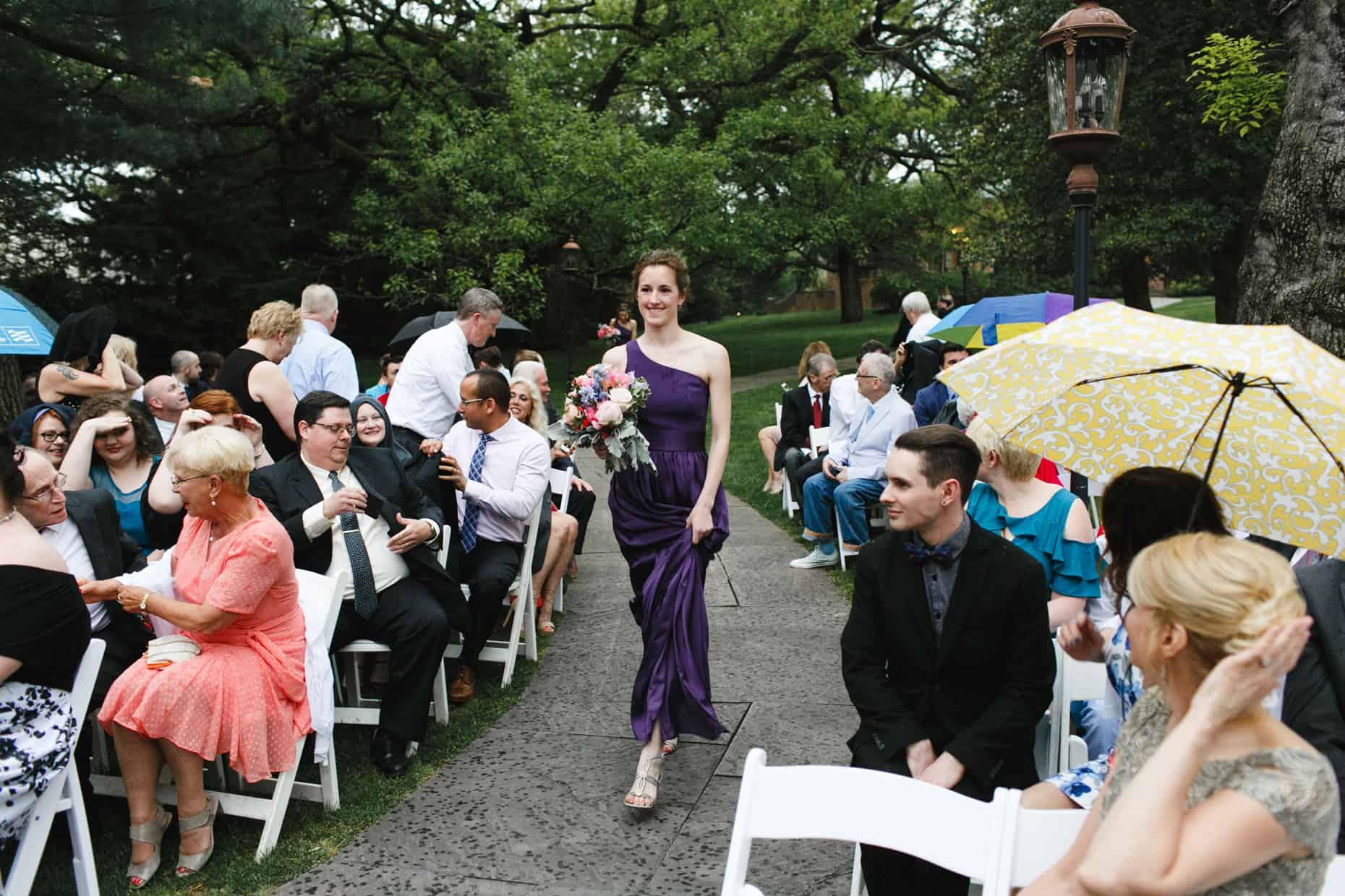 Bucks County Mansion Wedding Ceremony
