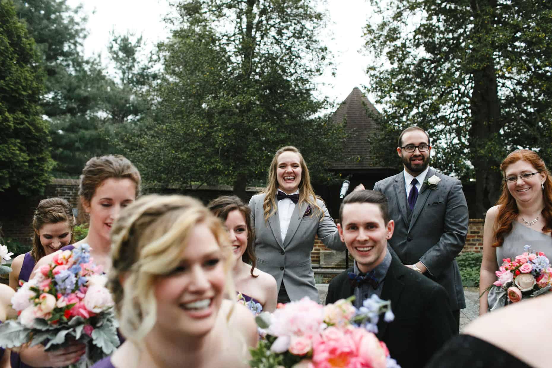 Bucks County Mansion Wedding Photos