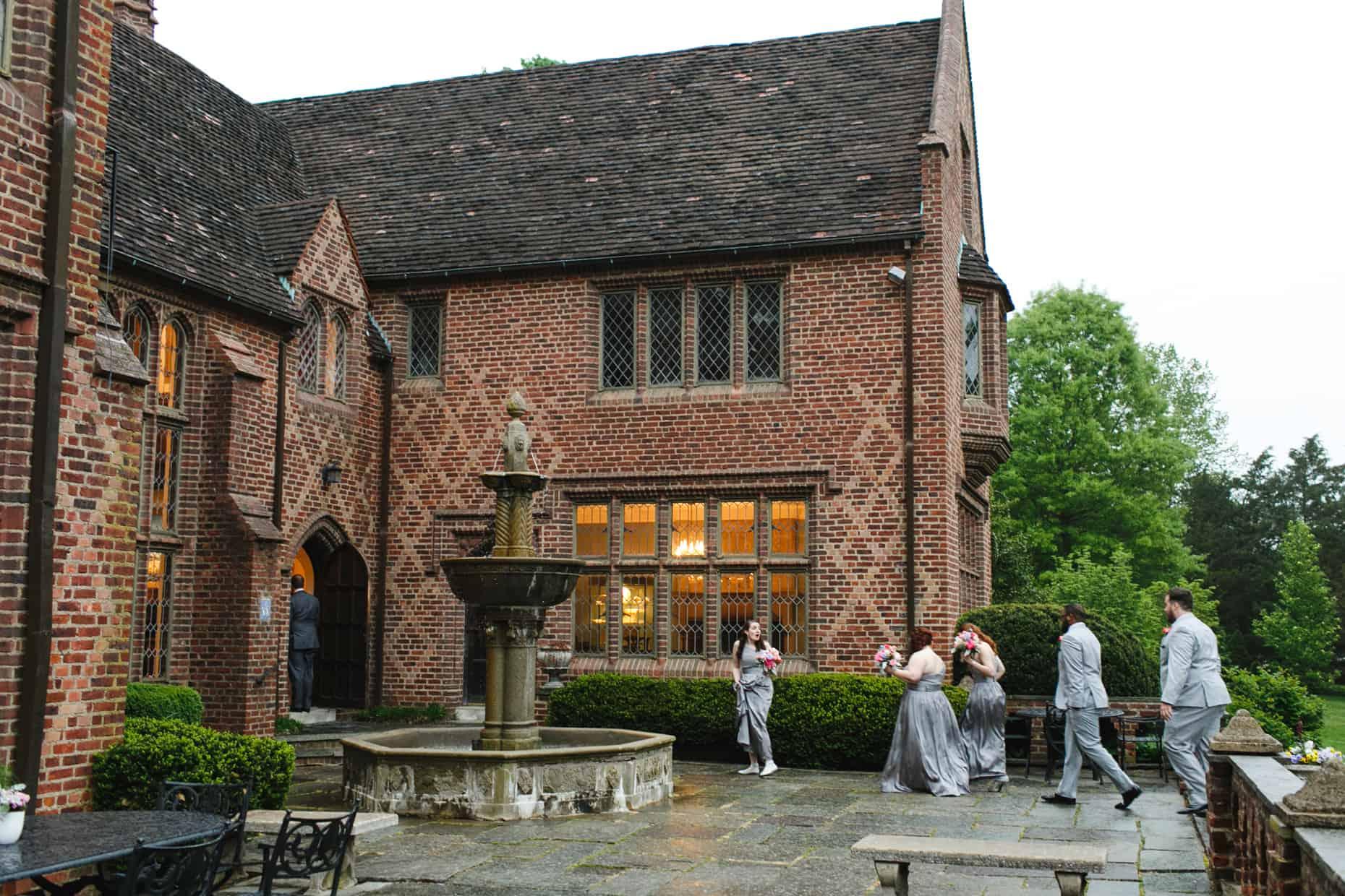 Bucks County Mansion Wedding Photographs