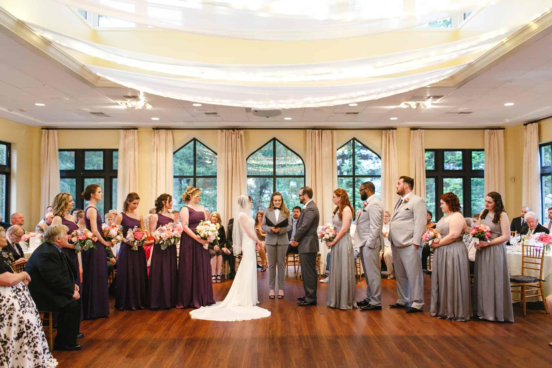 Wedding Bucks County Mansion