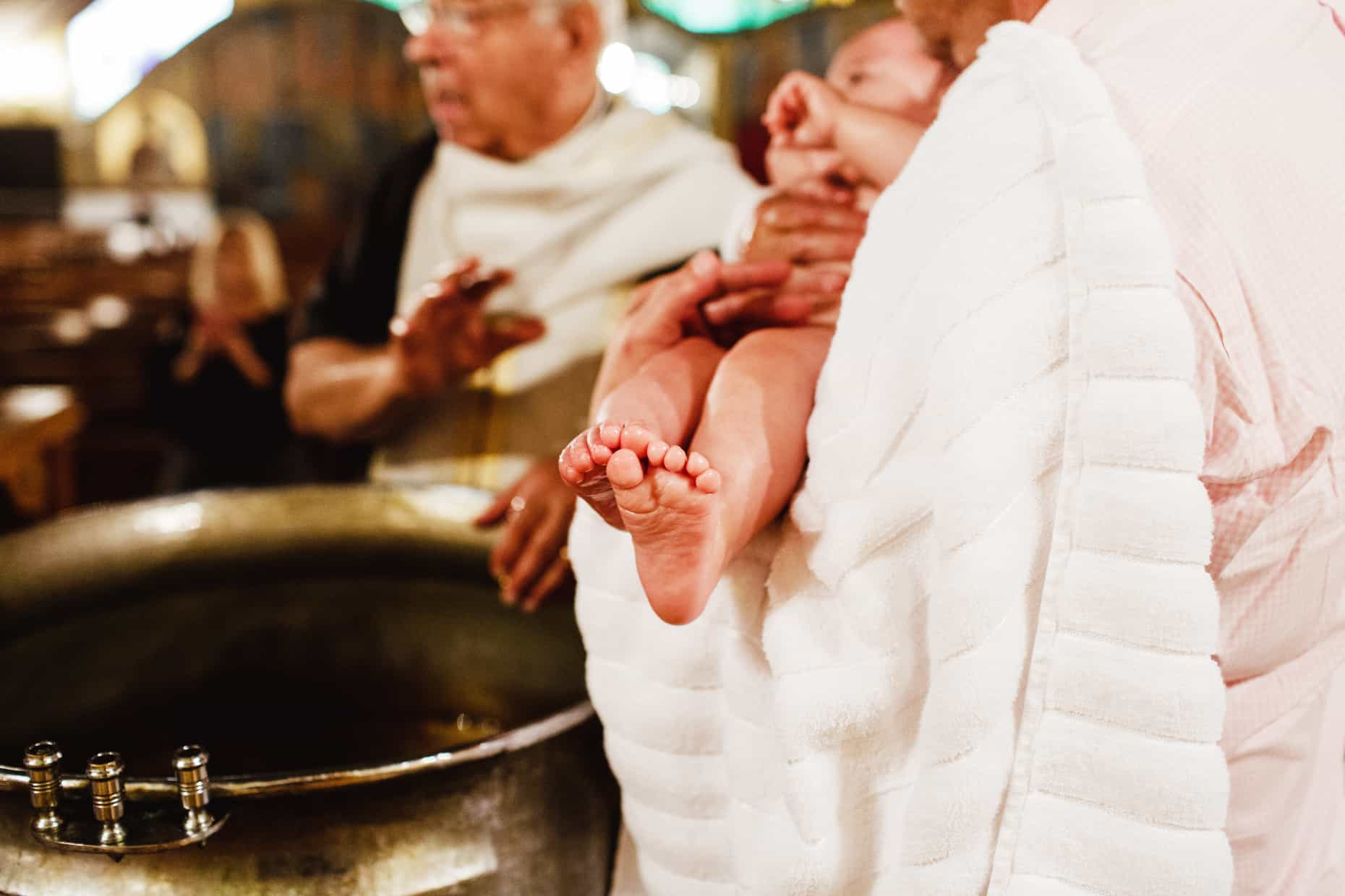 Baptism Photograph Brooklyn