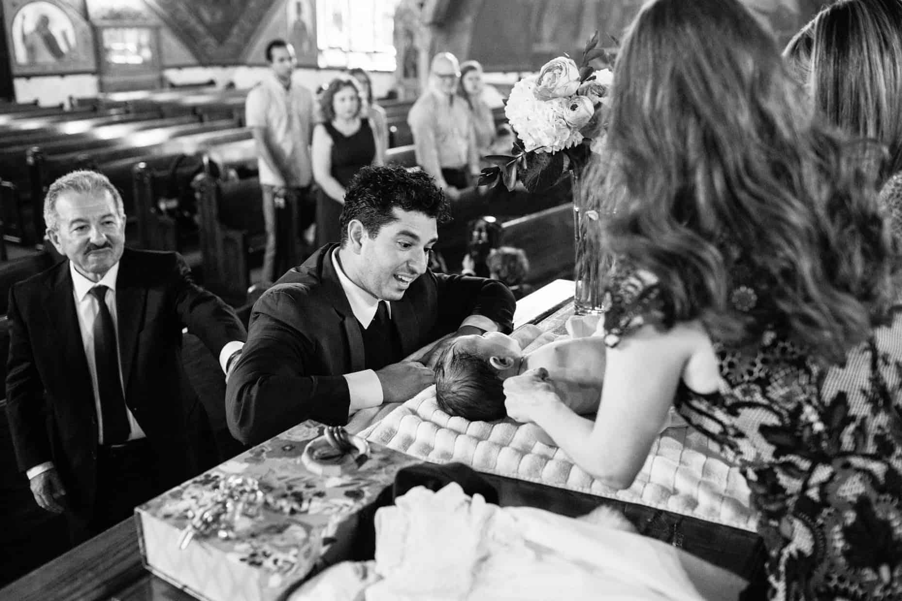 Baptism Photographs Brooklyn