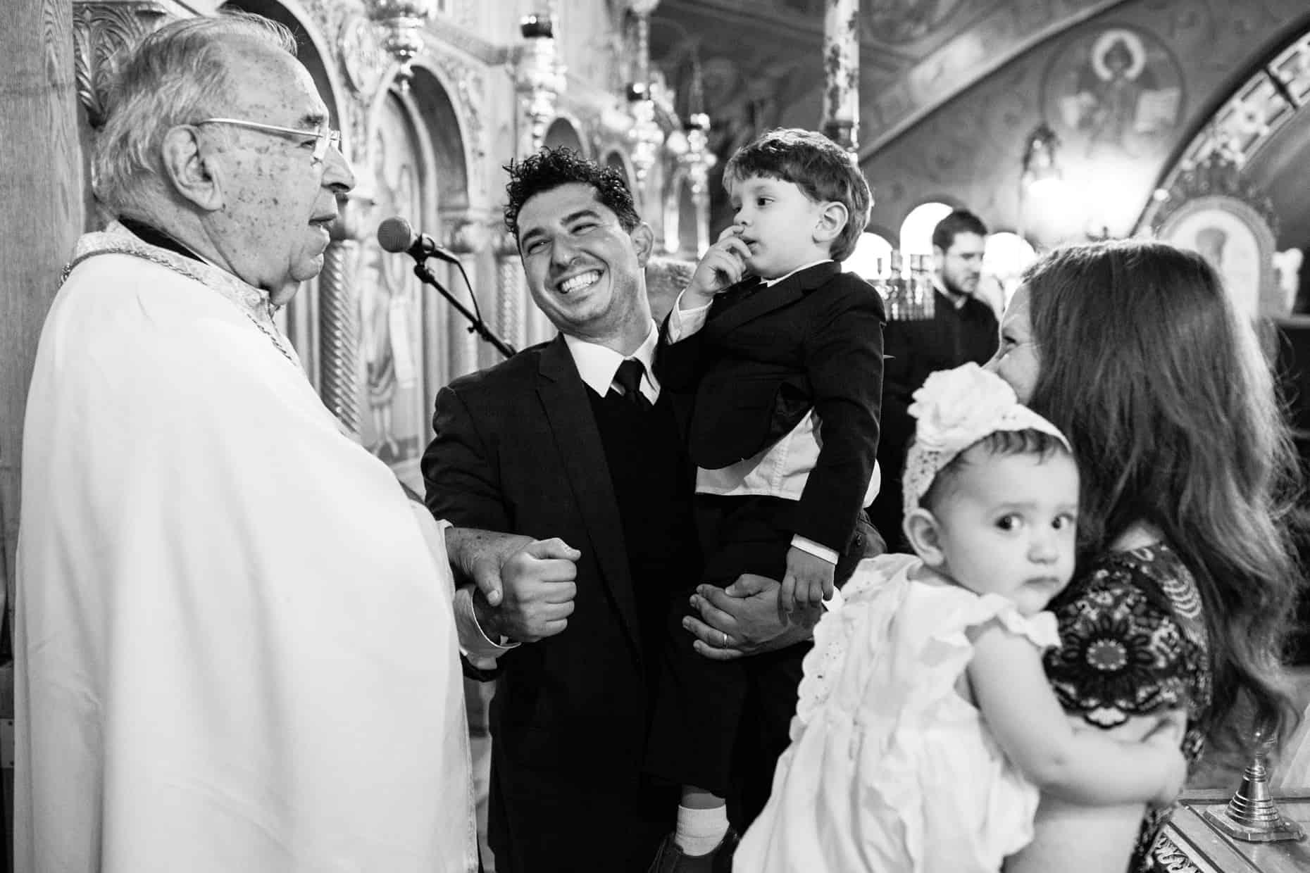 New York Baptism Photograph