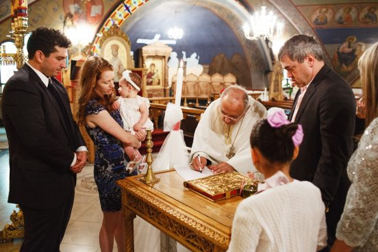 New York Baptism Photographs
