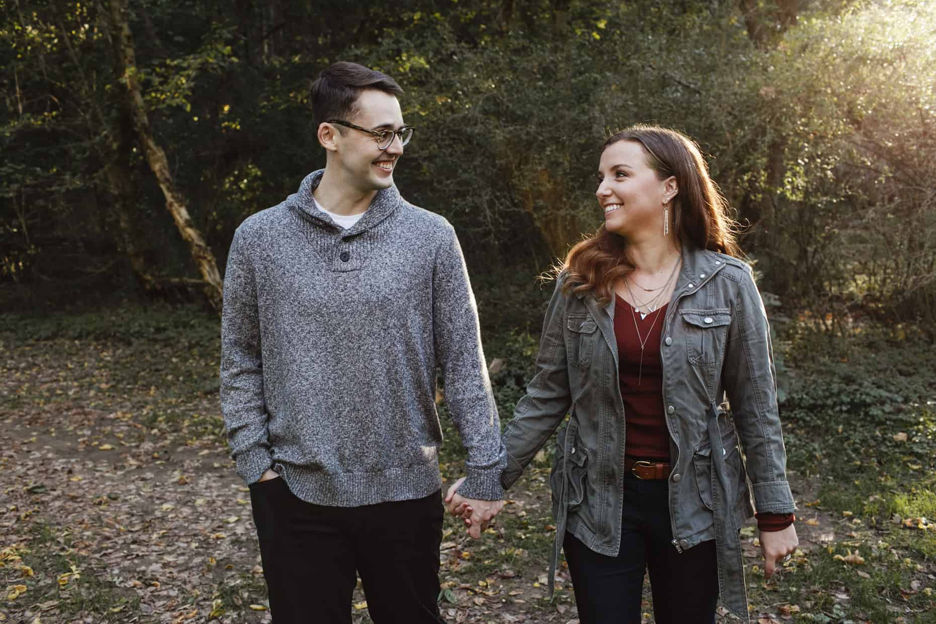 Philly Engagement Photo