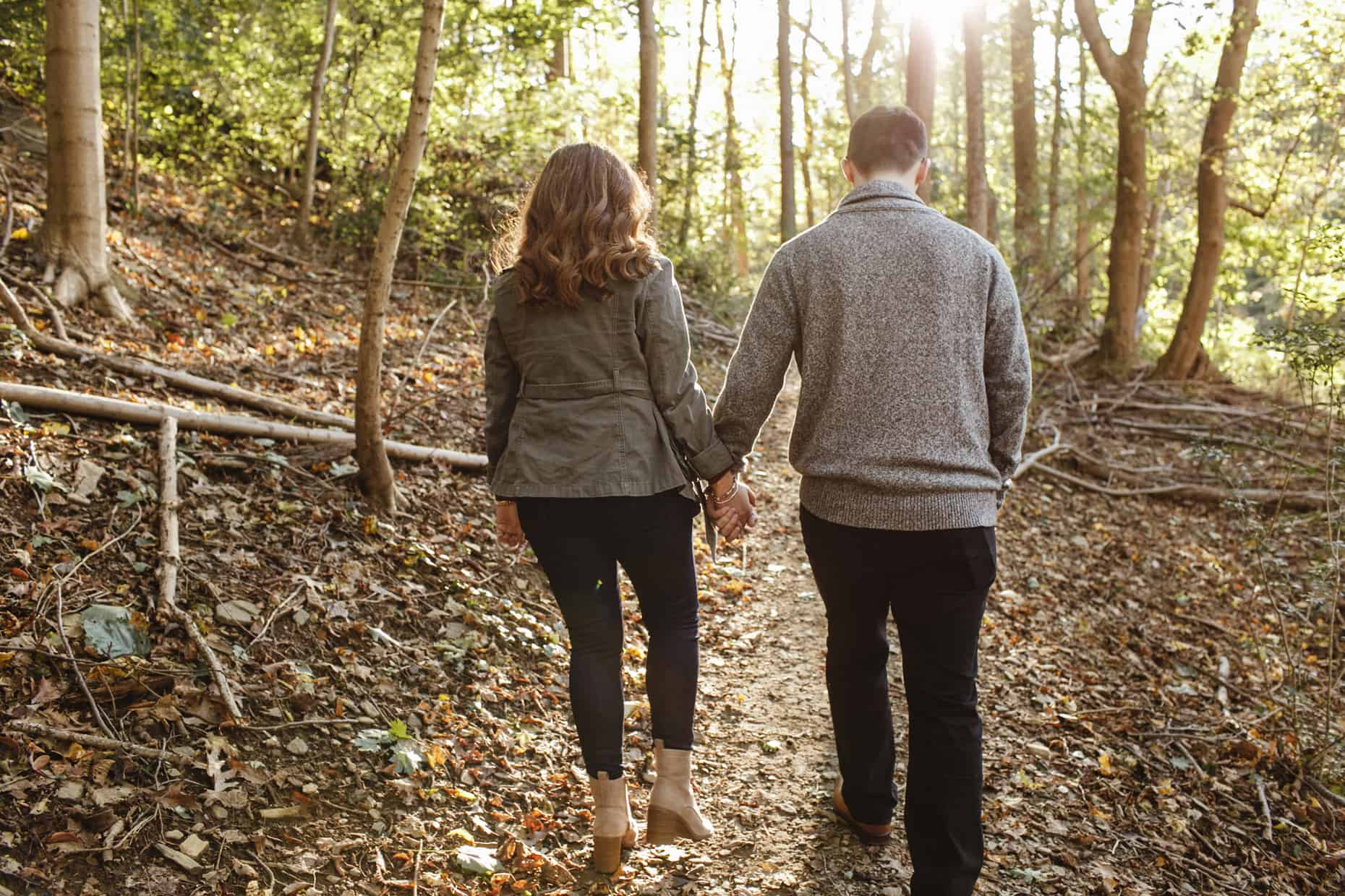Engagement Pictures Wissahickon