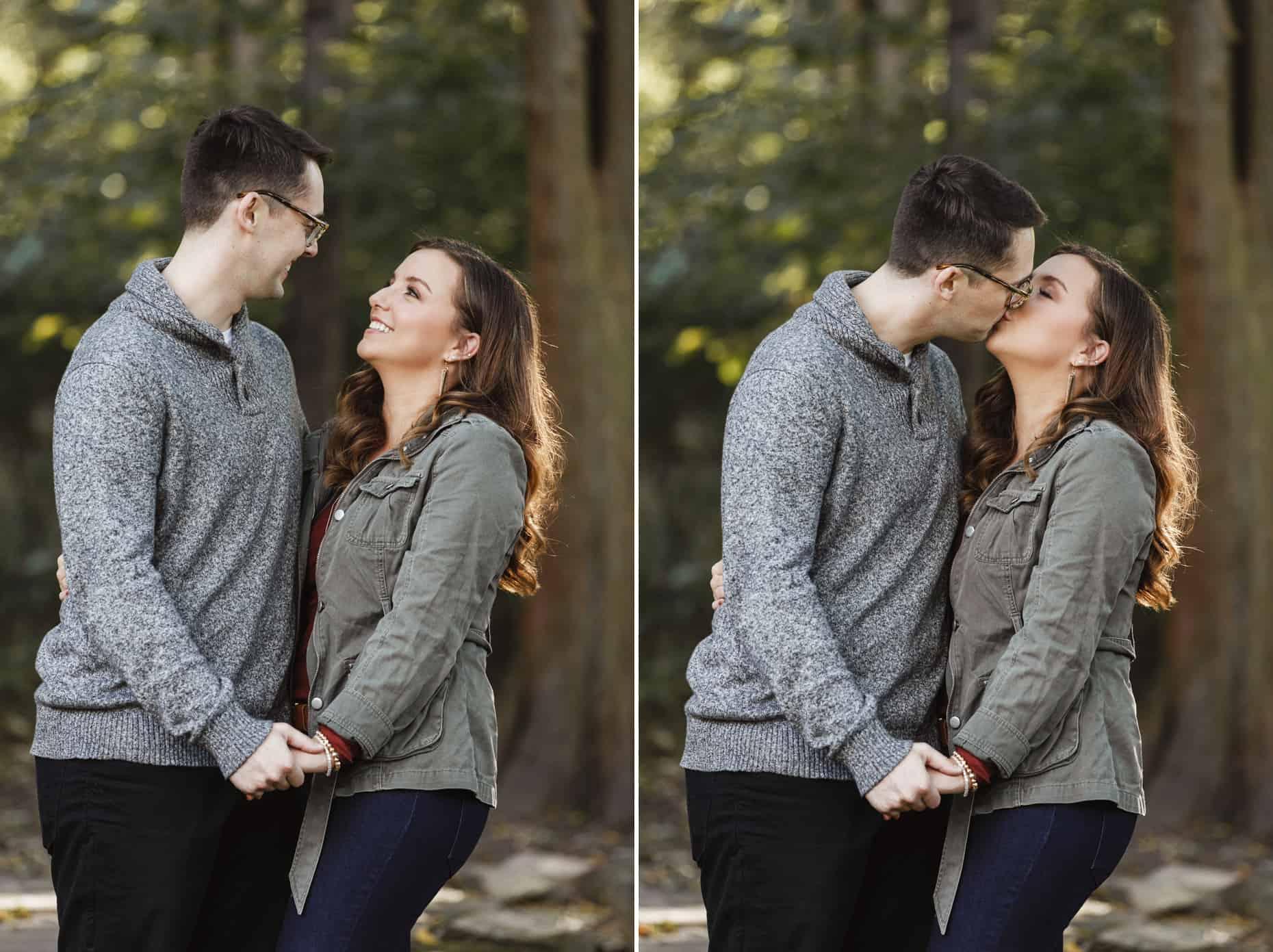 Wissahickon Engagement Photographs