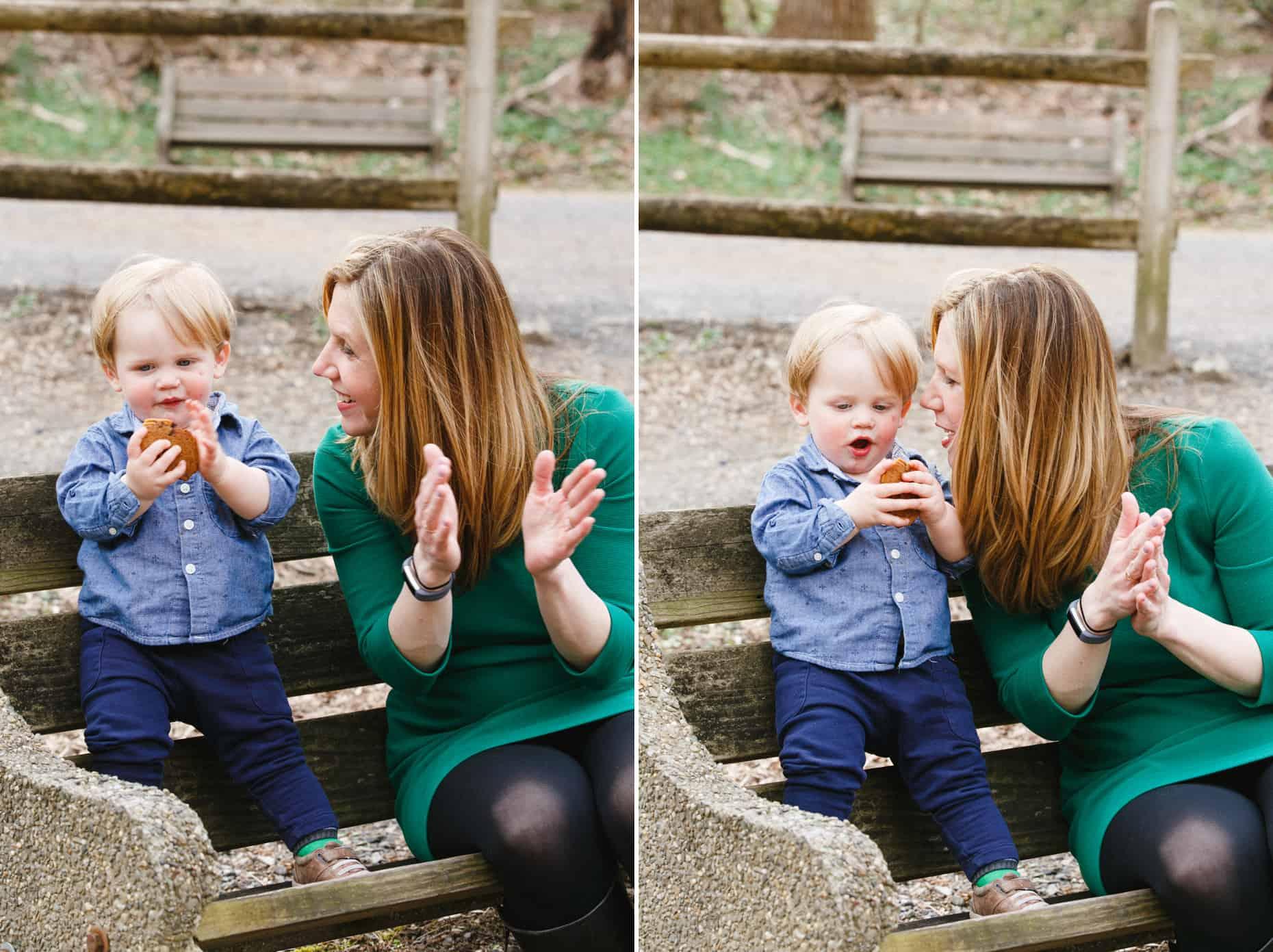 Wissahickon Valley Park Family Photo