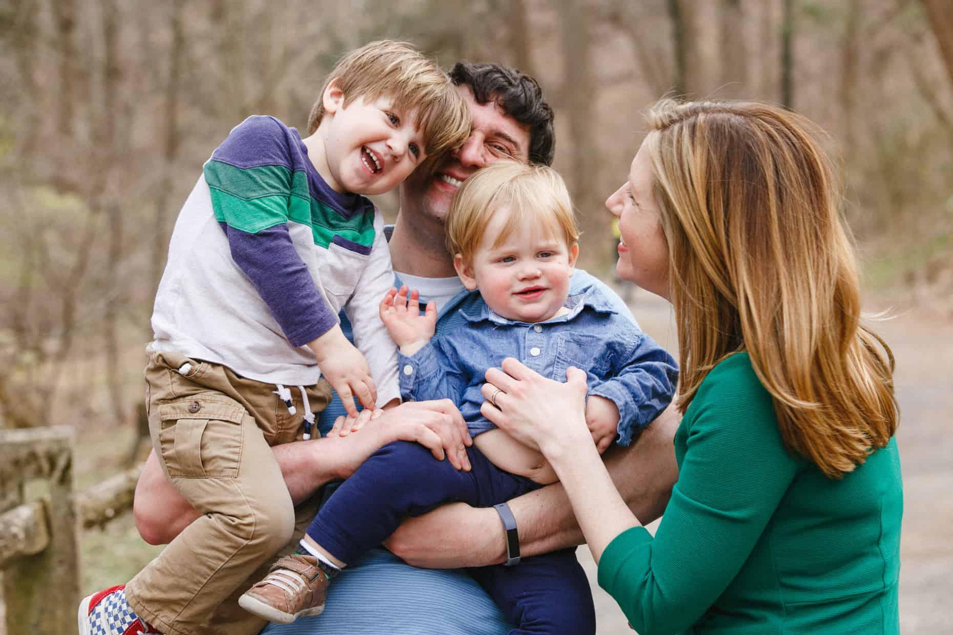 Philadelphia Outdoor Family Photographs