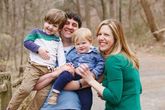 Philadelphia Outdoor Family Picture
