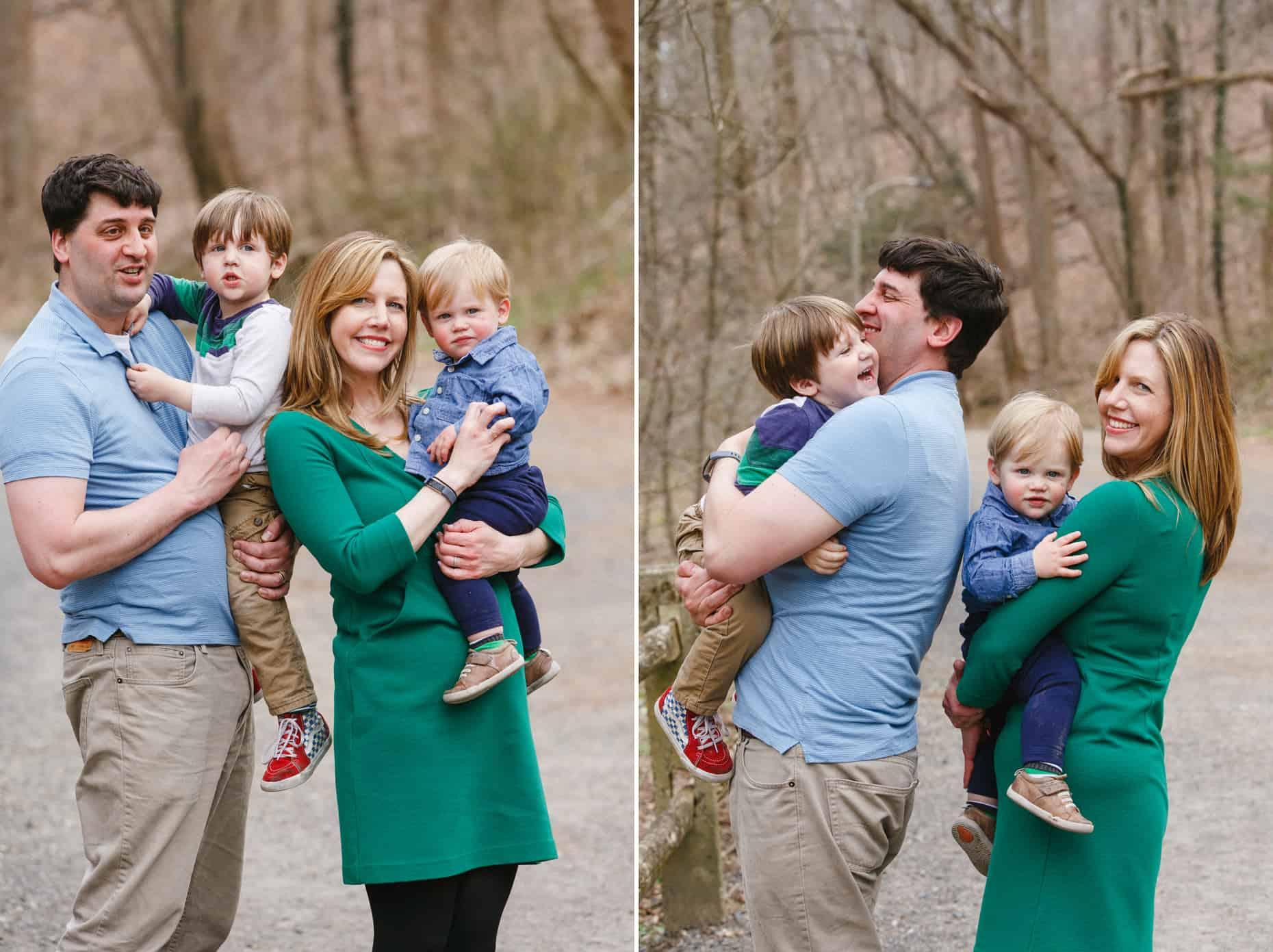 Philadelphia Outdoor Family Pictures