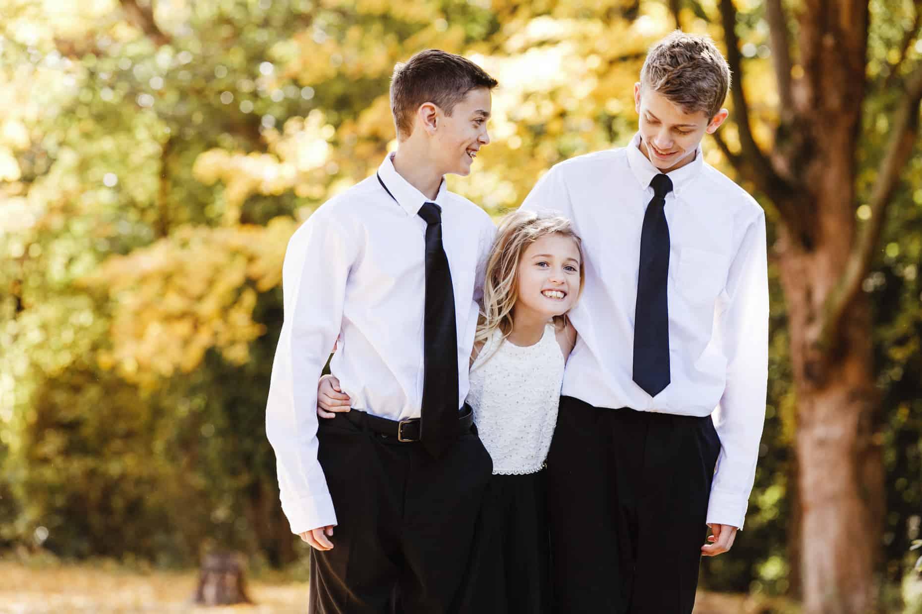 Family Photo Curtis Arboretum