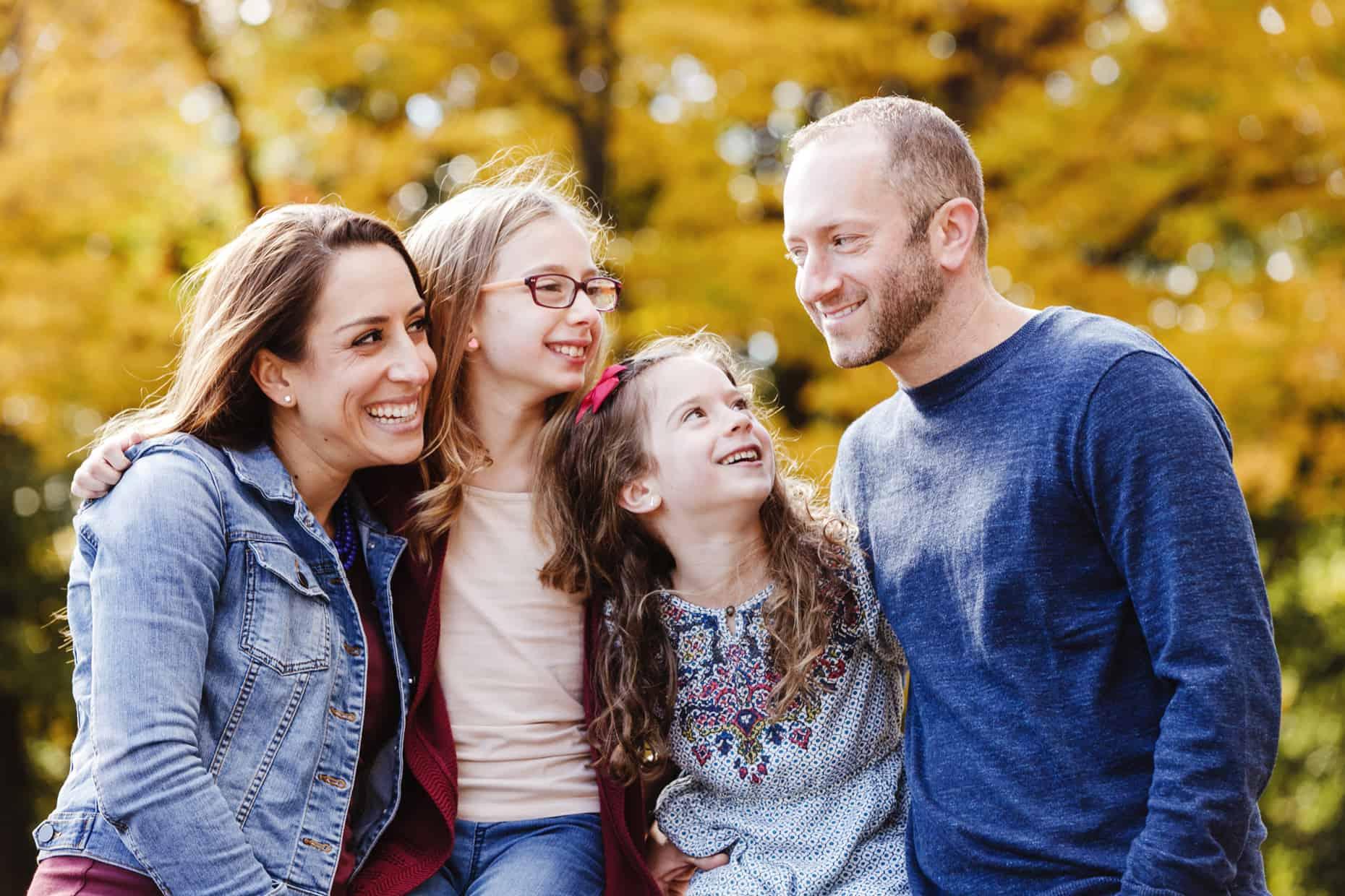Curtis Arboretum Family Photographers