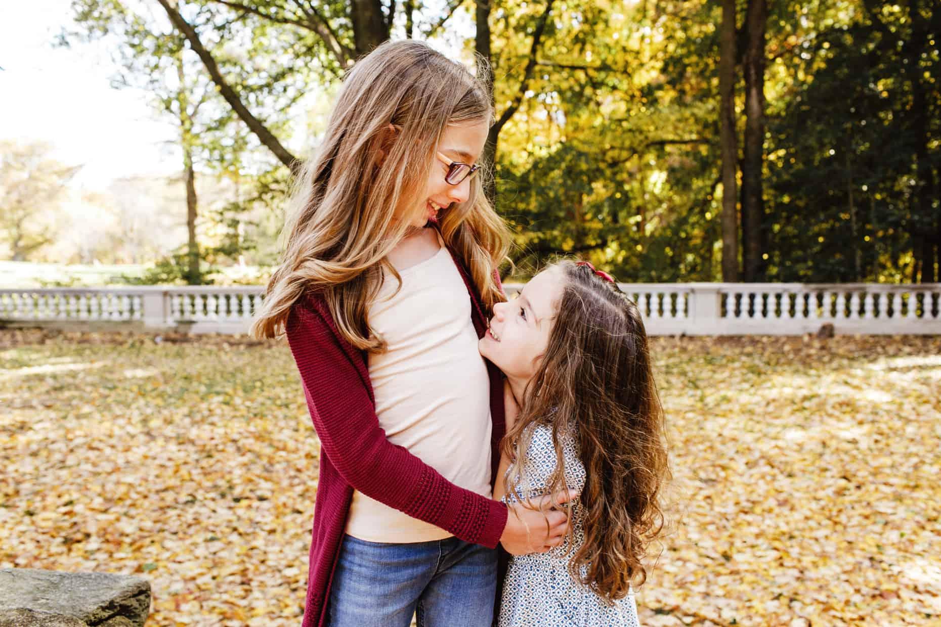 Curtis Arboretum Family Photograph
