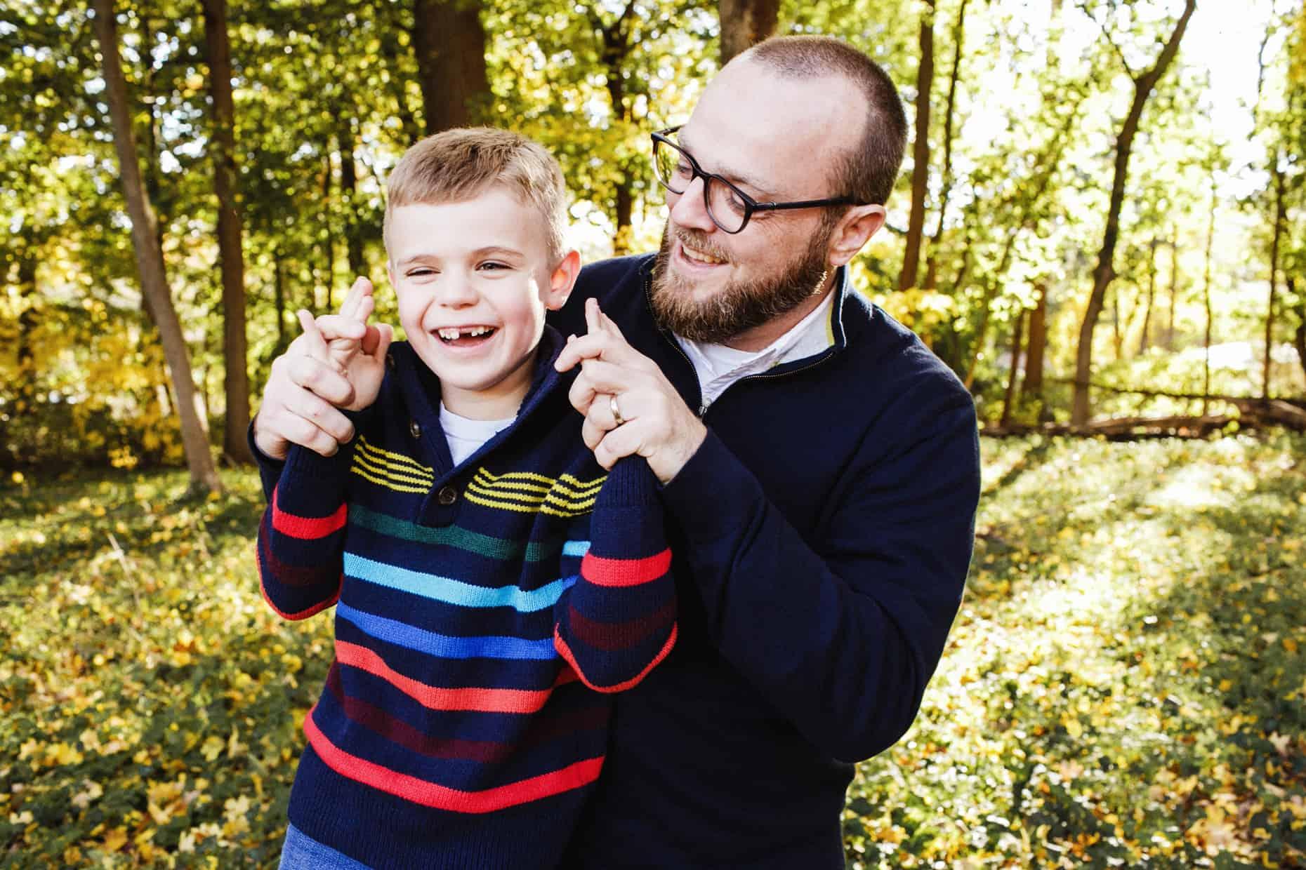 Curtis Arboretum Family Photo