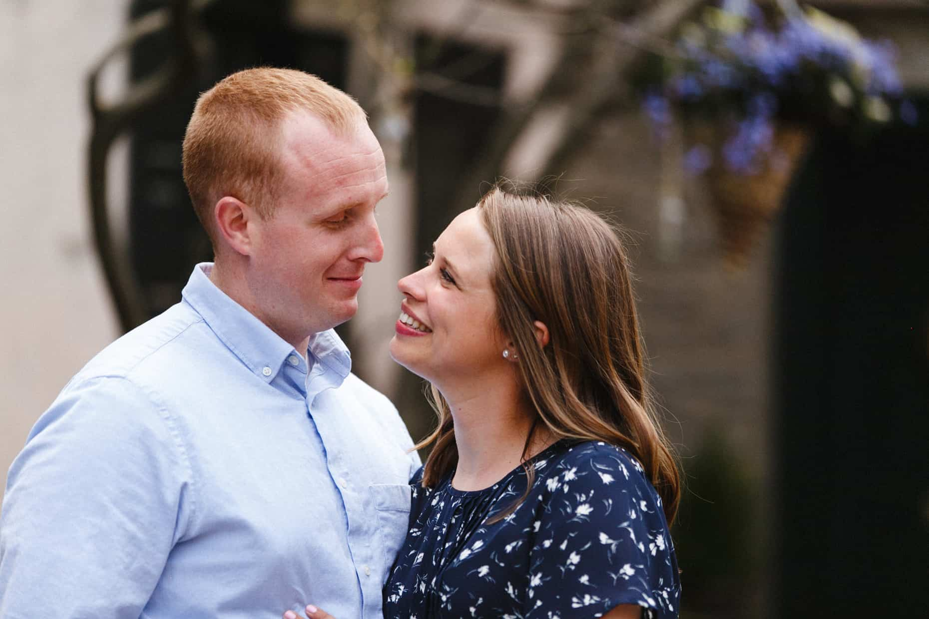 Chestnut Hill Engagement Sessions