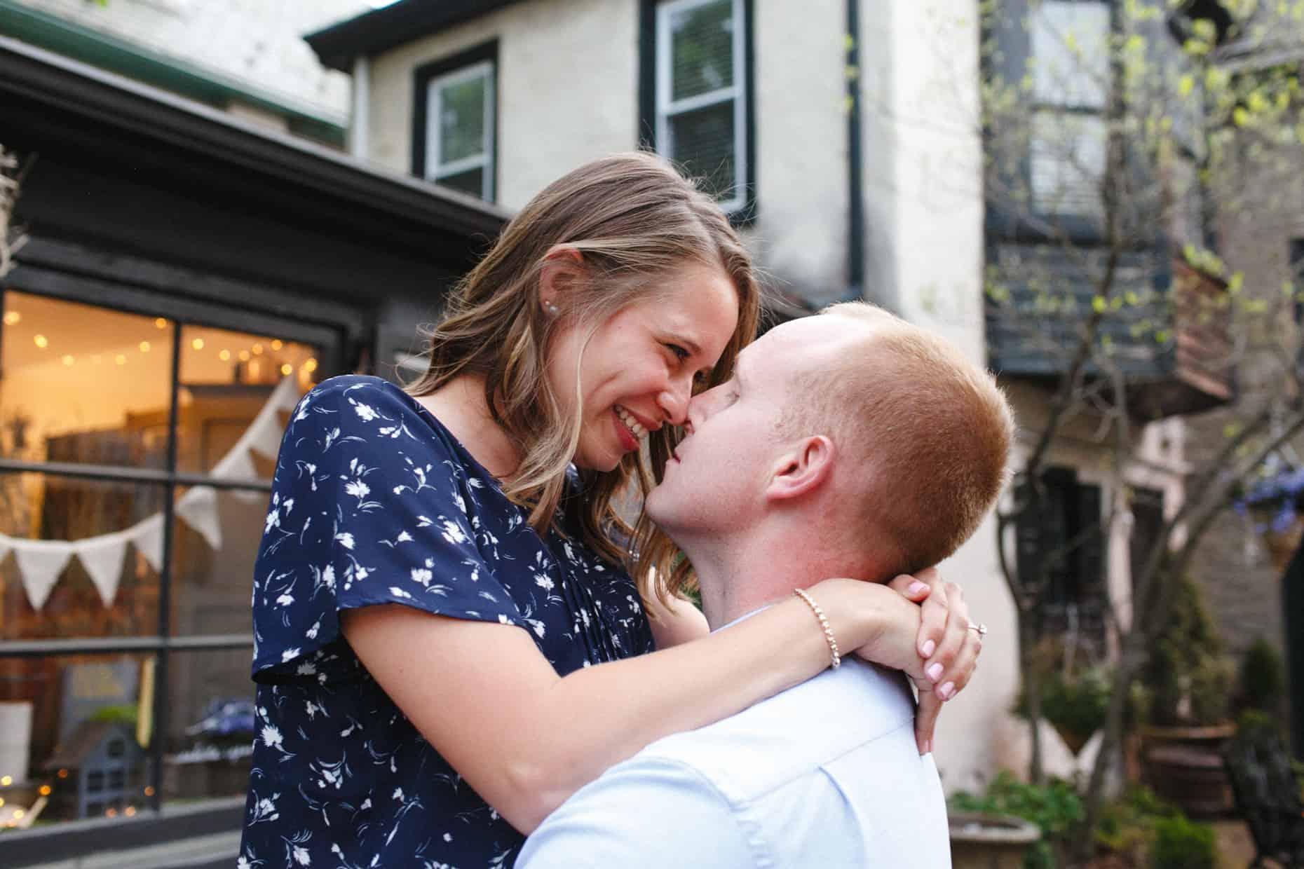 Chestnut Hill Engagement photographer