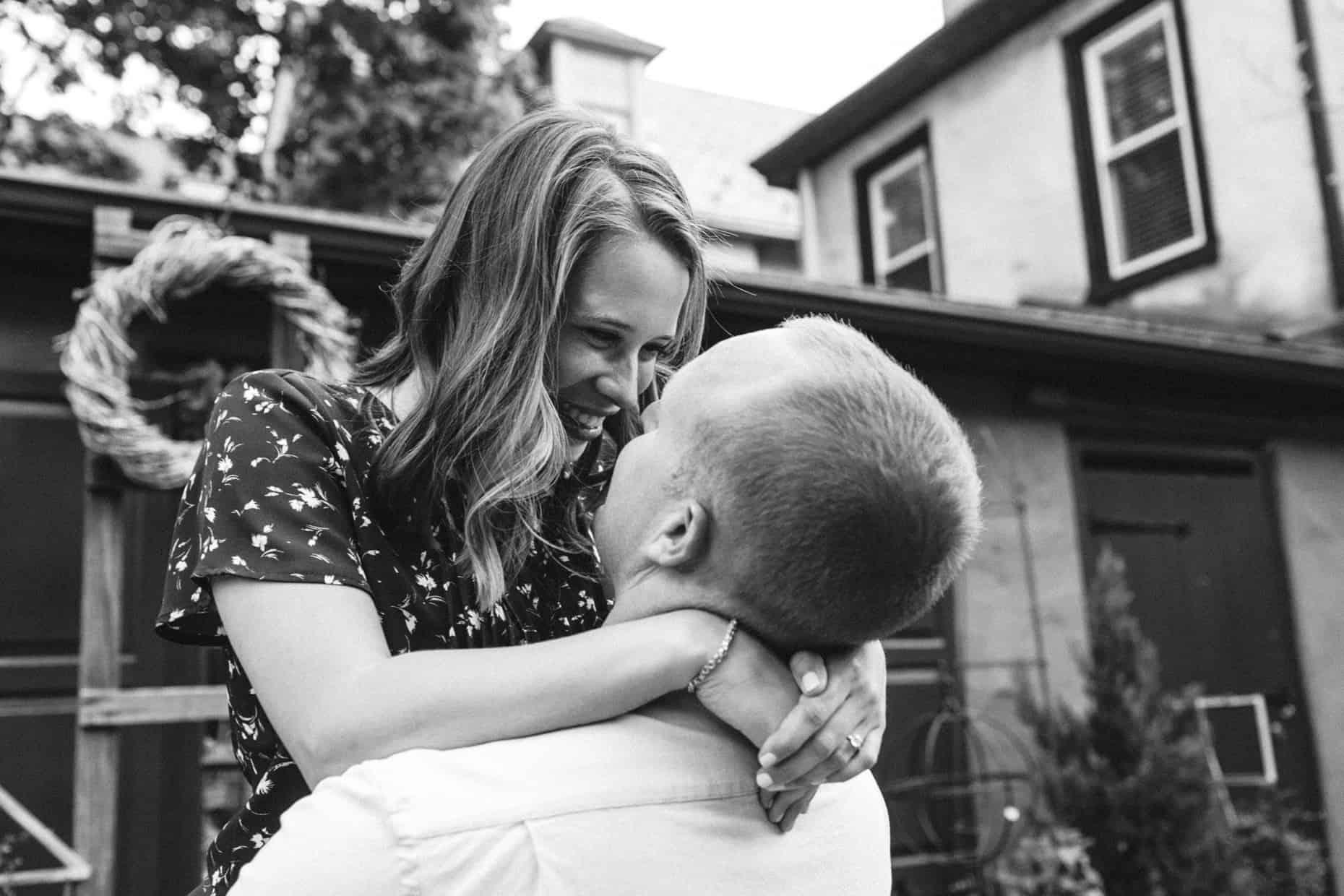 Engagement photos Chestnut Hill