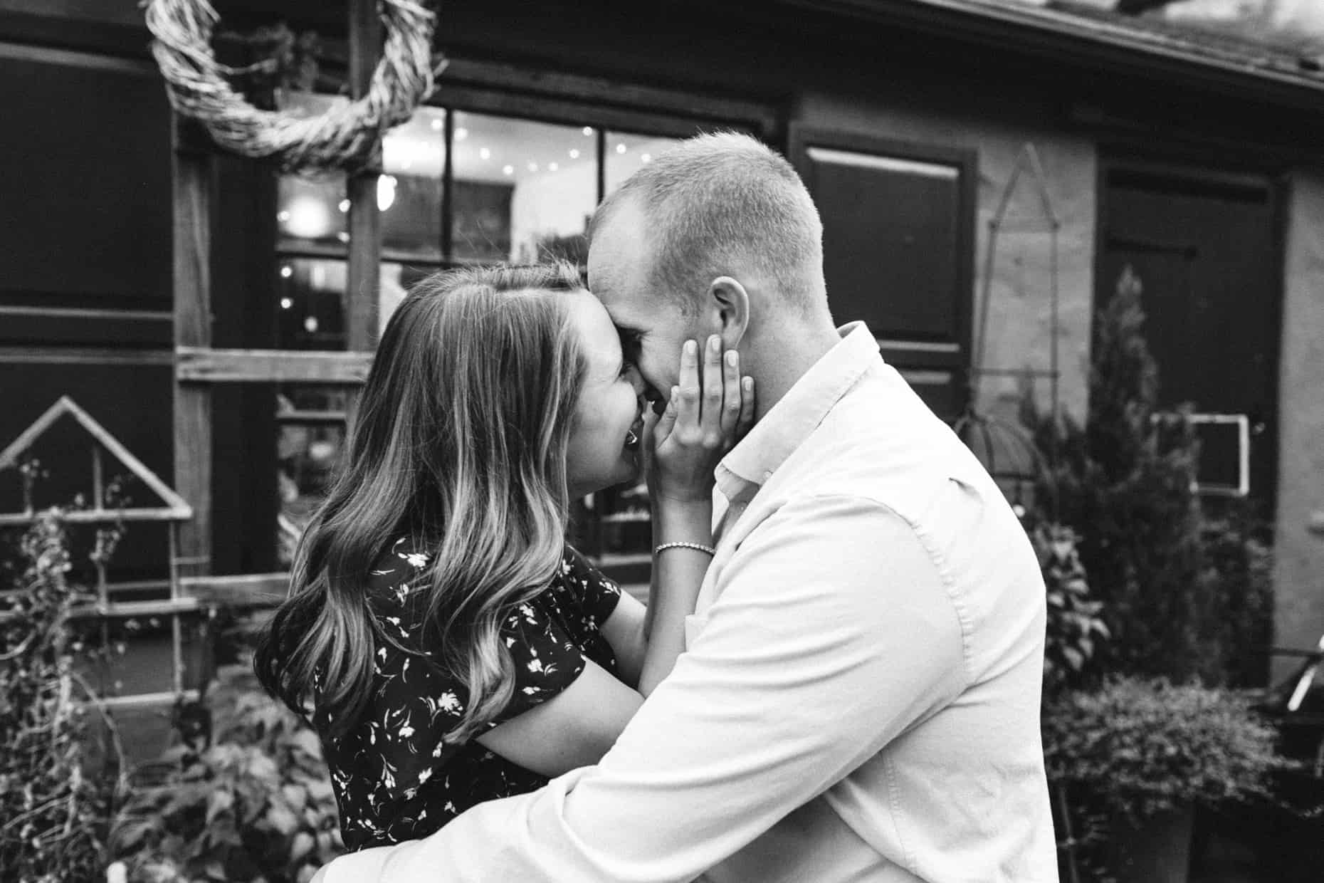 Engagement photographers Chestnut Hill