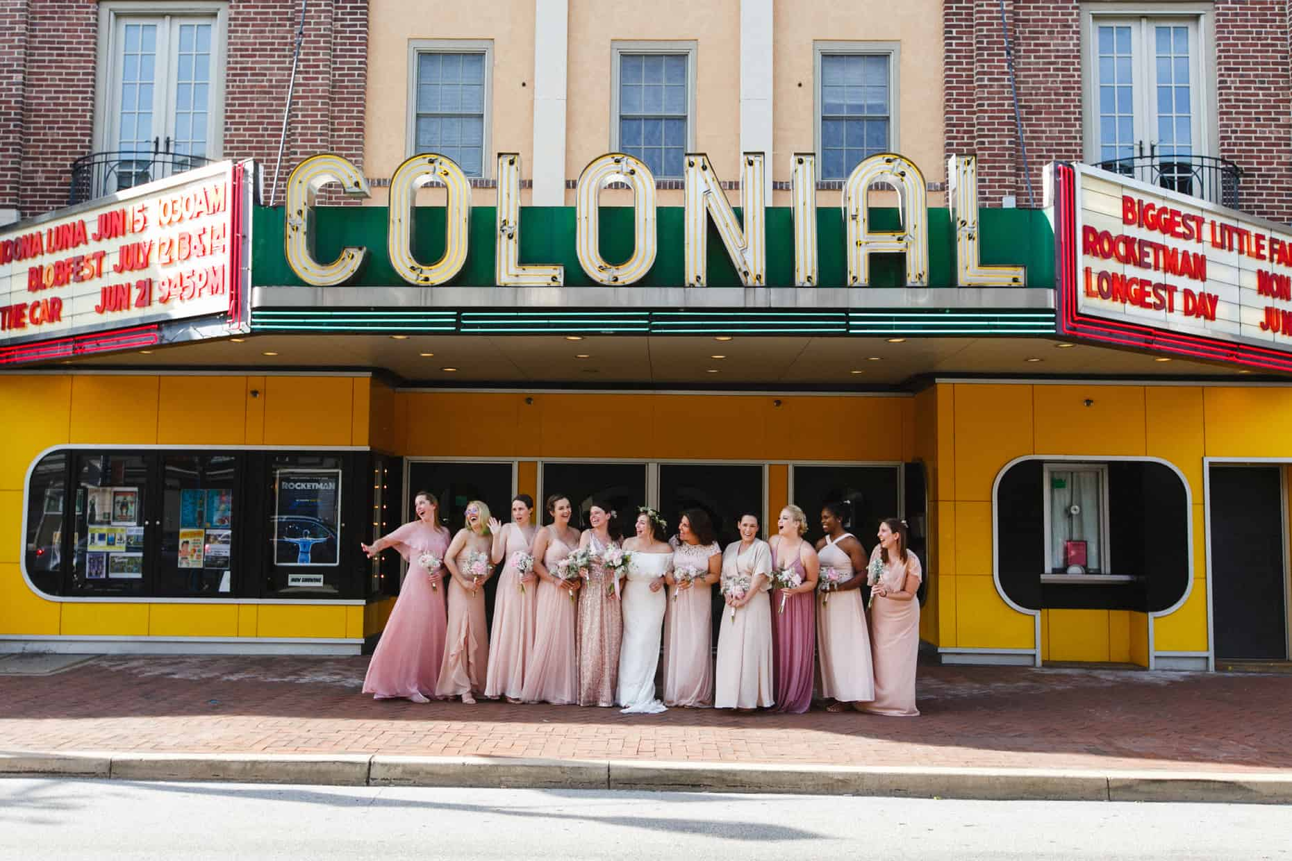 Colonial Theater Wedding