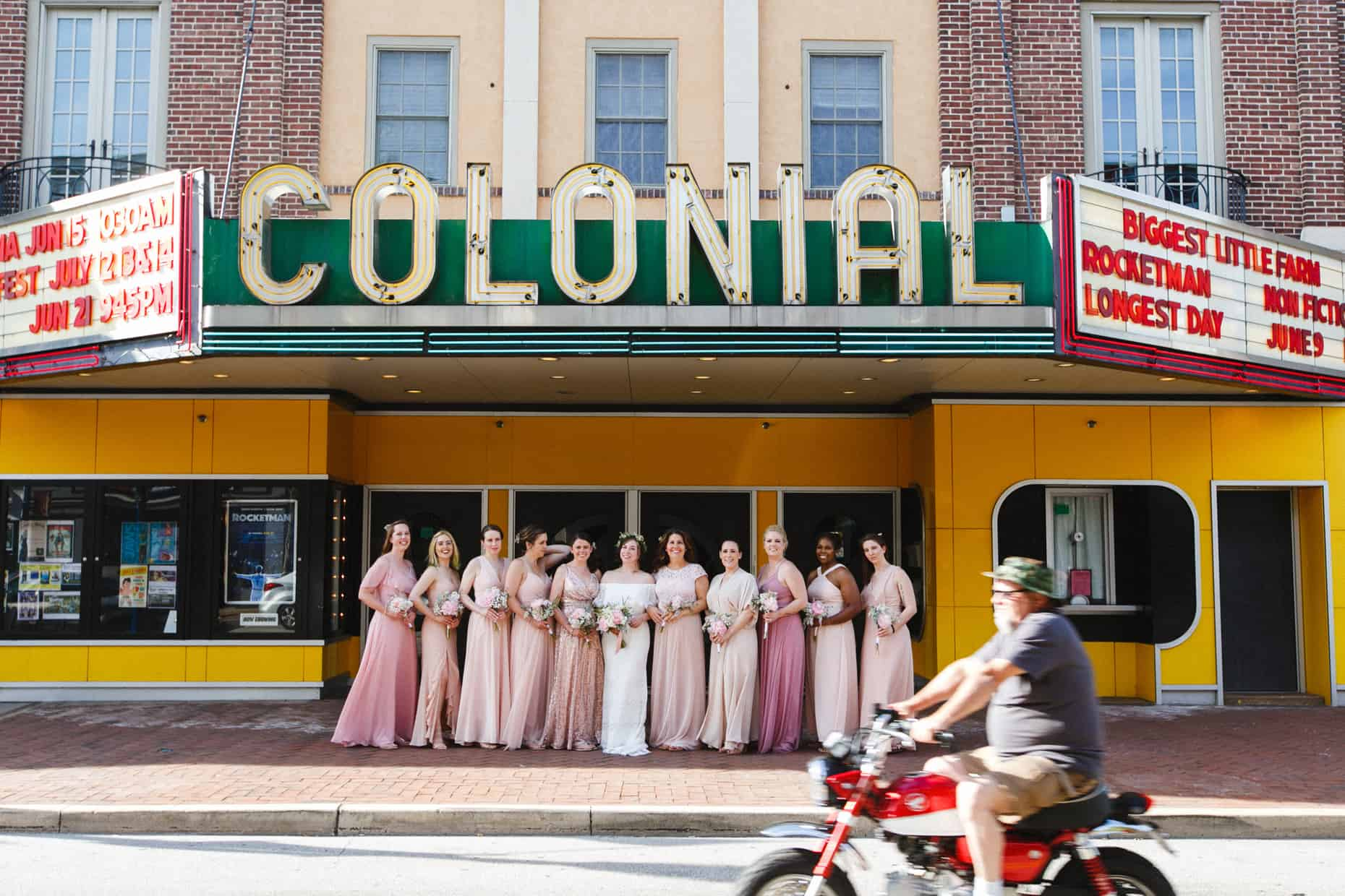 Phoenixville Colonial Theater Wedding