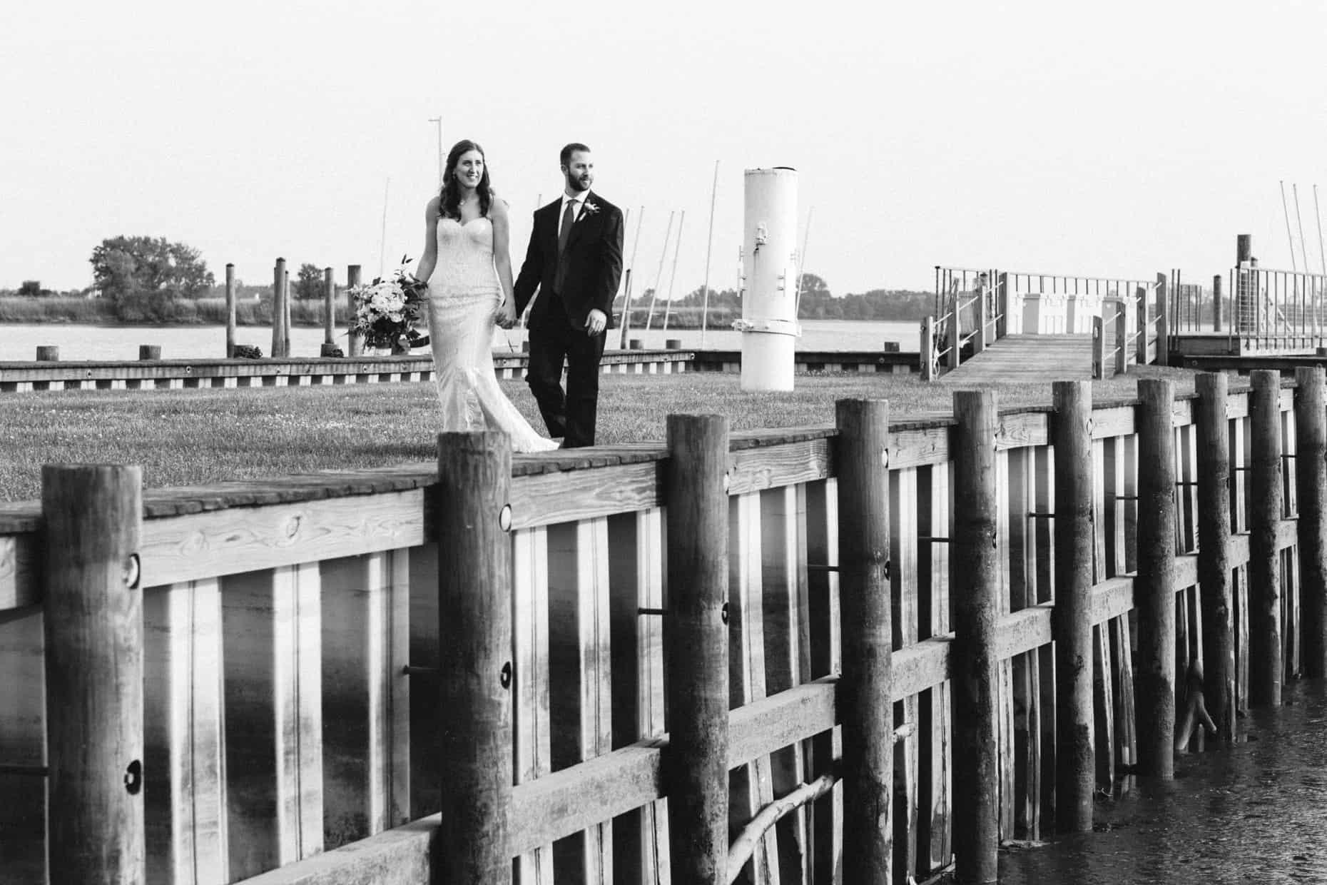 Wedding Photo Corinthian Yacht Club of Philadelphia