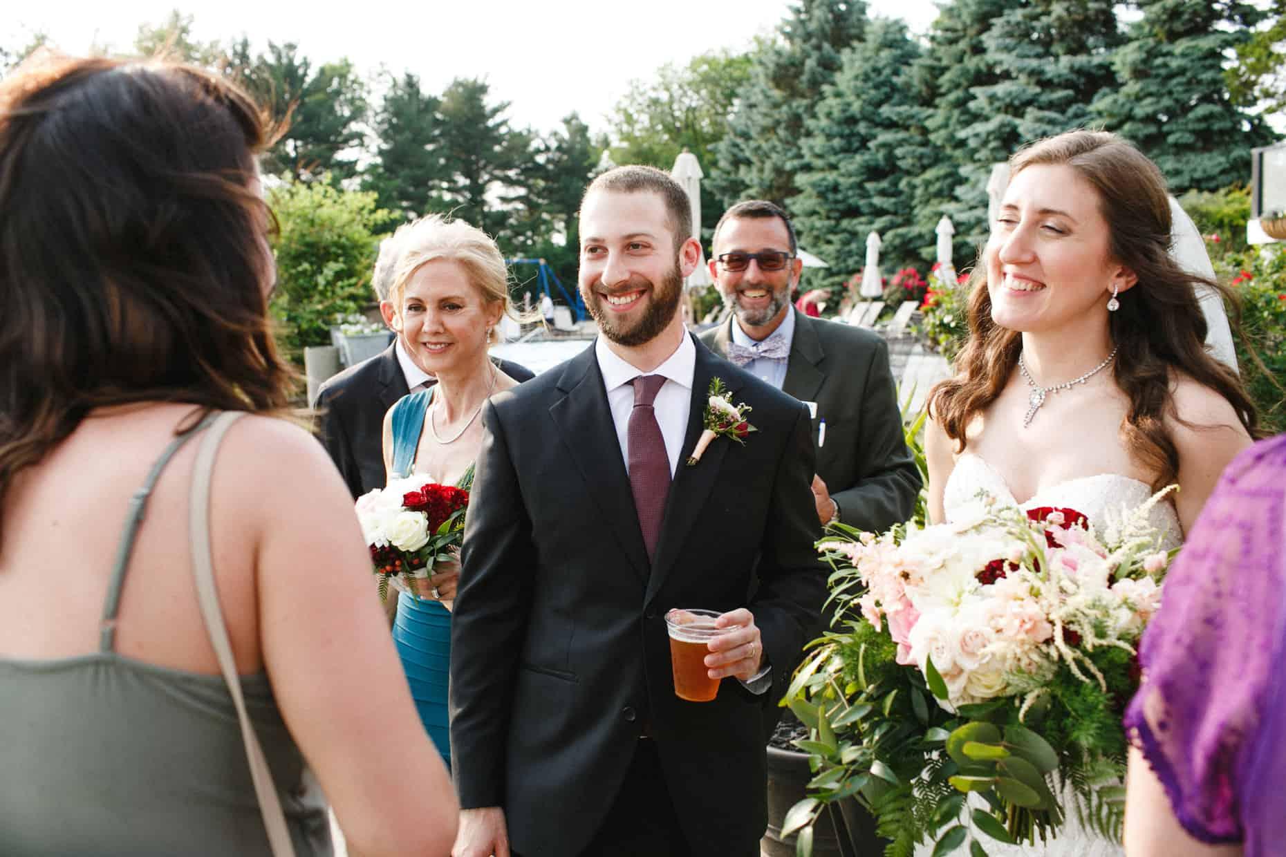 Corinthian Yacht Club of Philadelphia Wedding Photographer