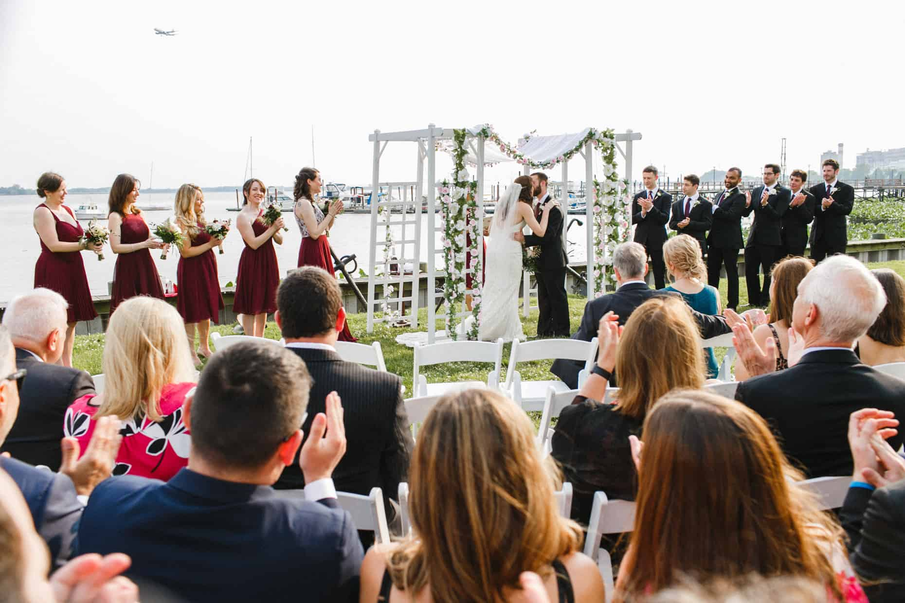 Corinthian Yacht Club of Philadelphia Wedding Reception