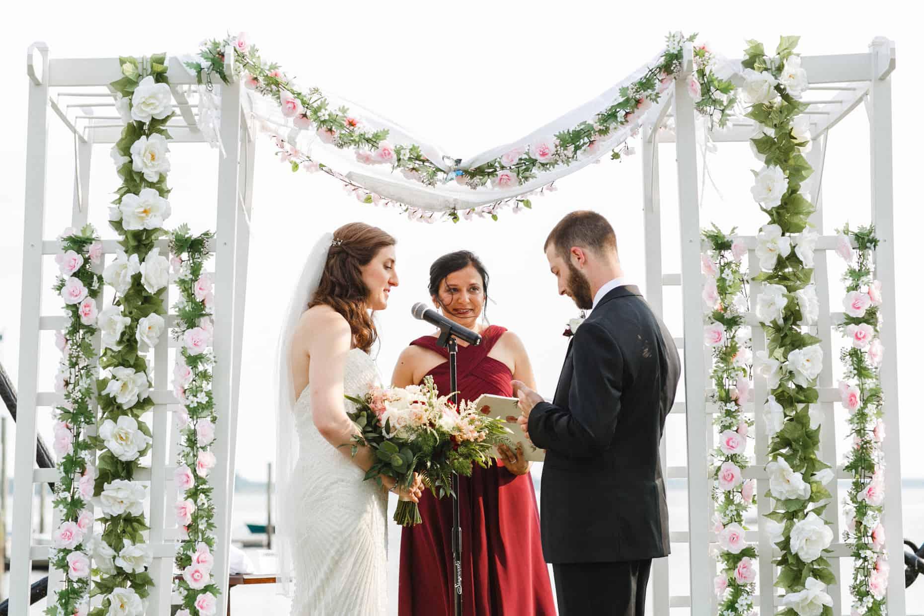Corinthian Yacht Club of Philadelphia Wedding Ceremony