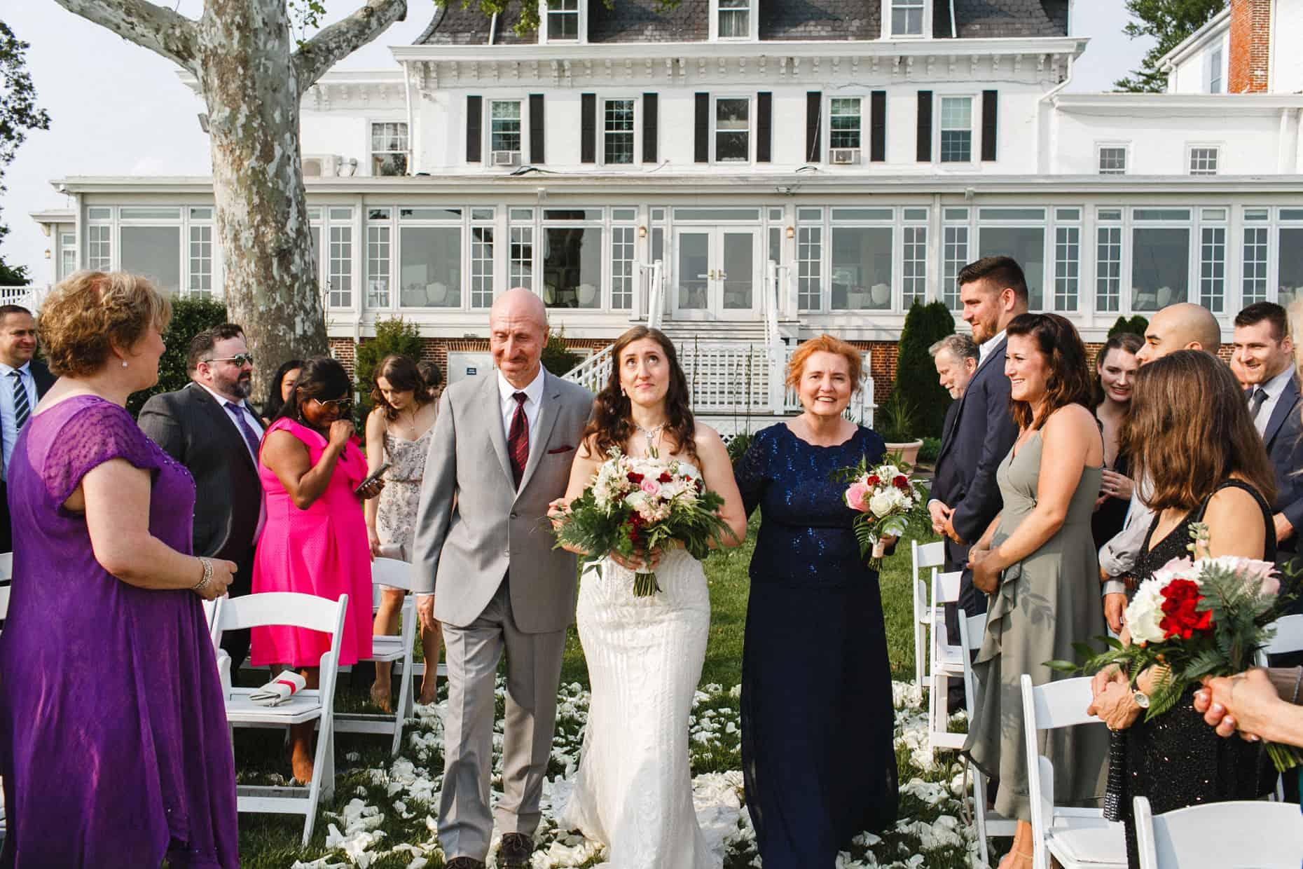 Wedding Picture Corinthian Yacht Club