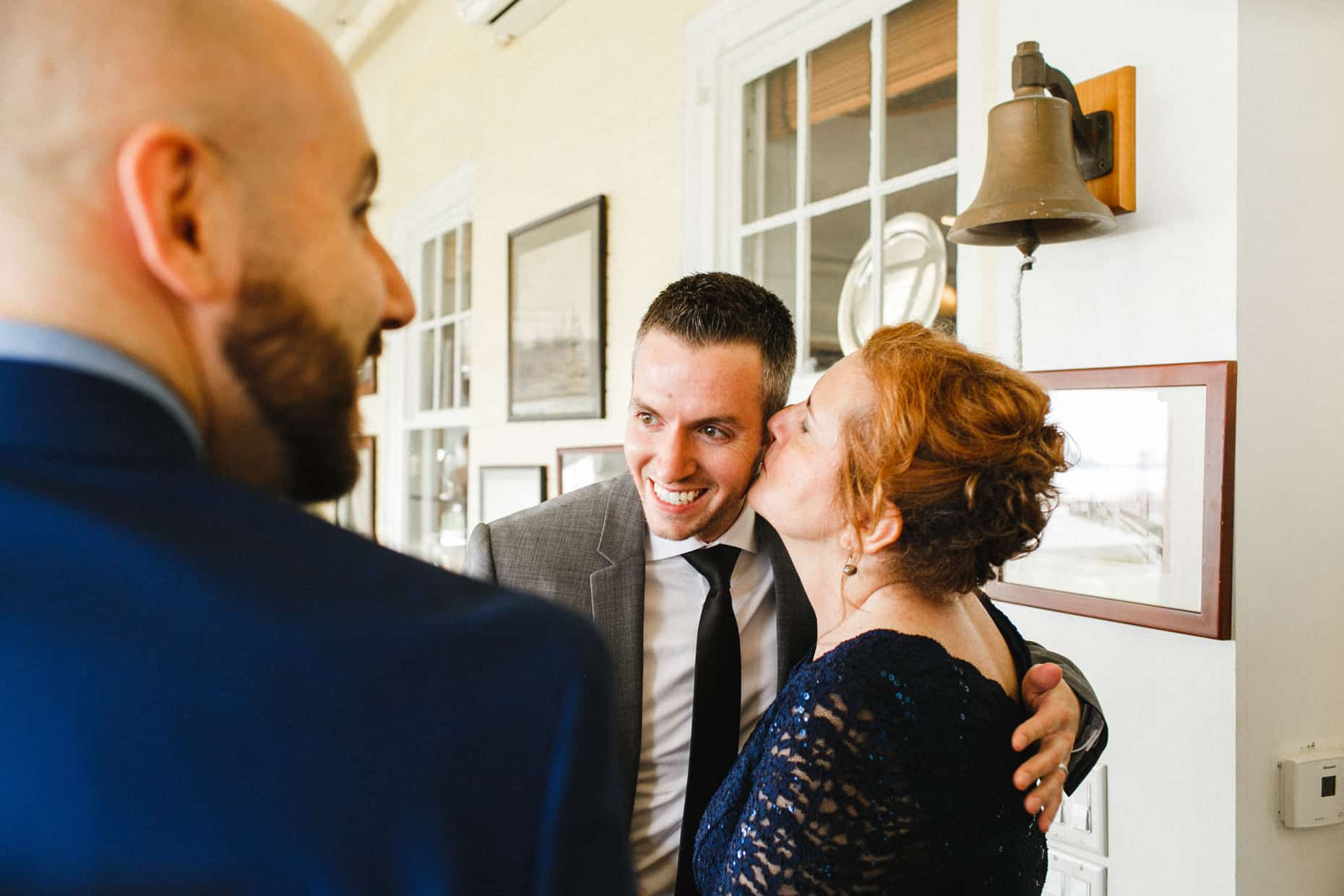Wedding Photographs Corinthian Yacht Club