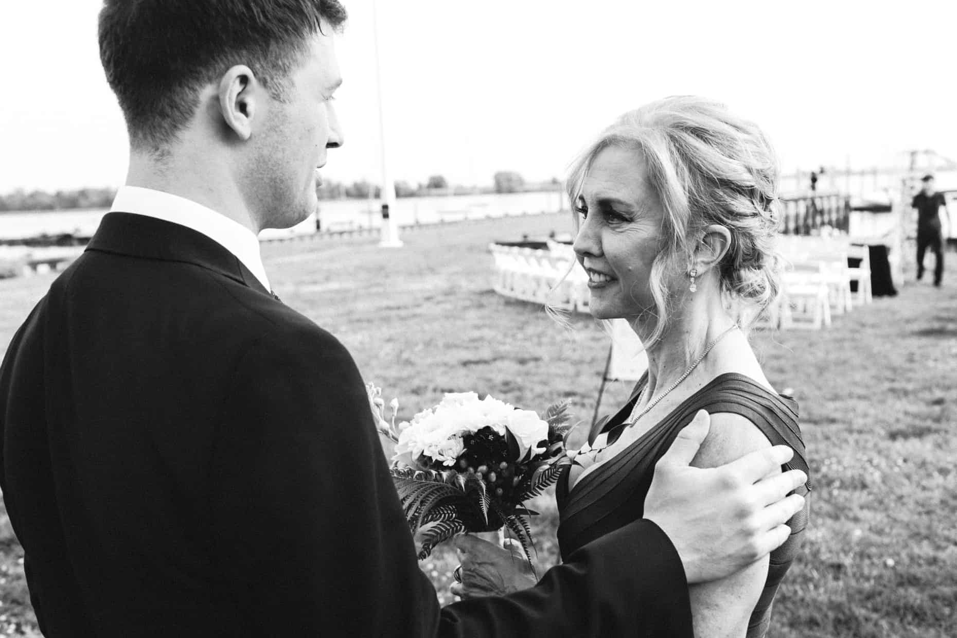 Wedding Photo Corinthian Yacht Club