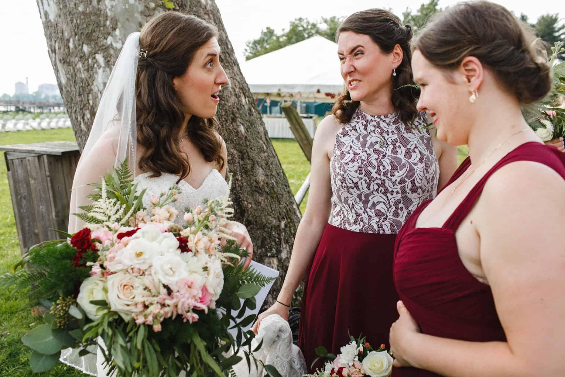 Wedding Ceremony Corinthian Yacht Club