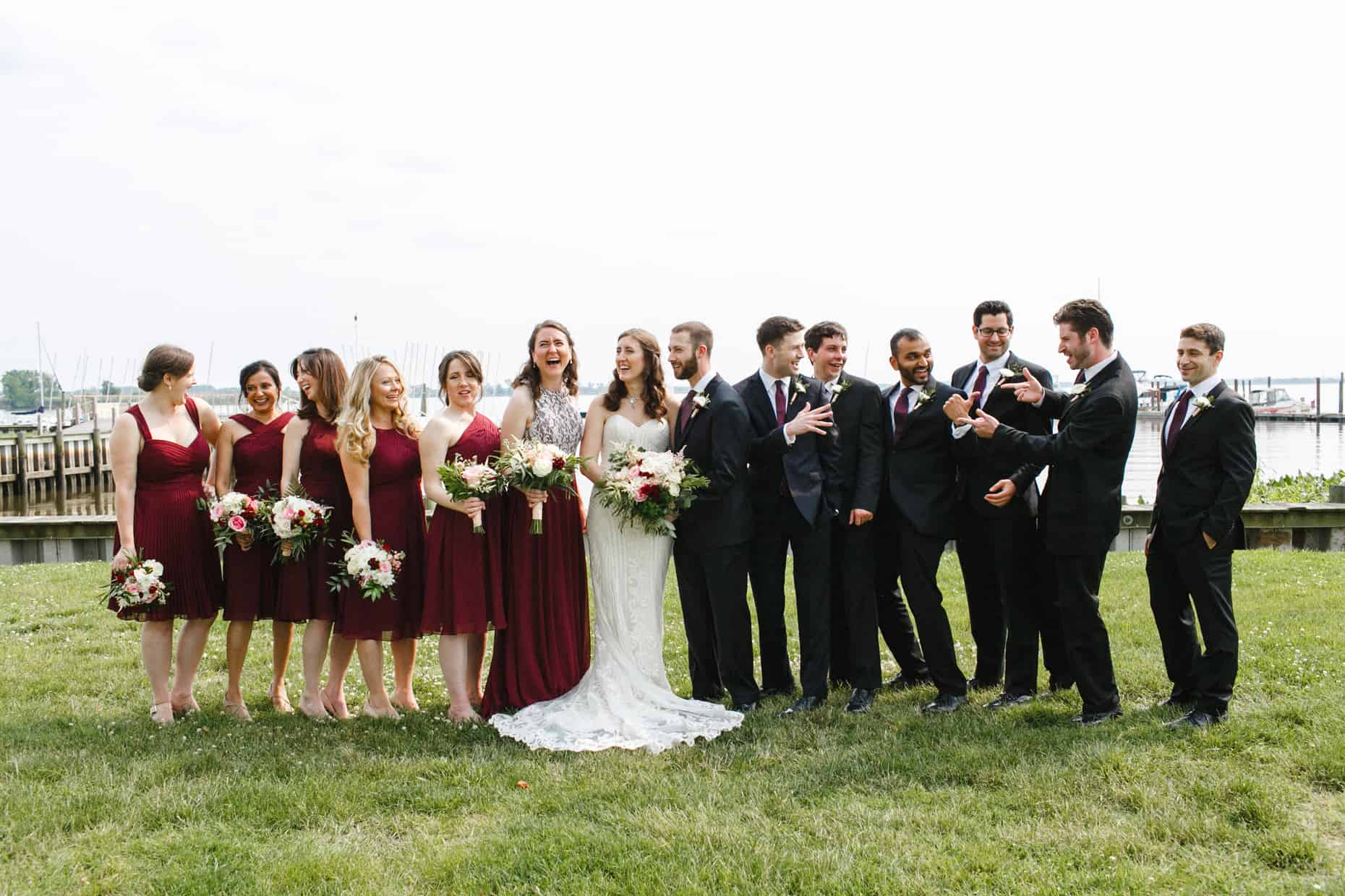 Corinthian Yacht Club Wedding Pictures