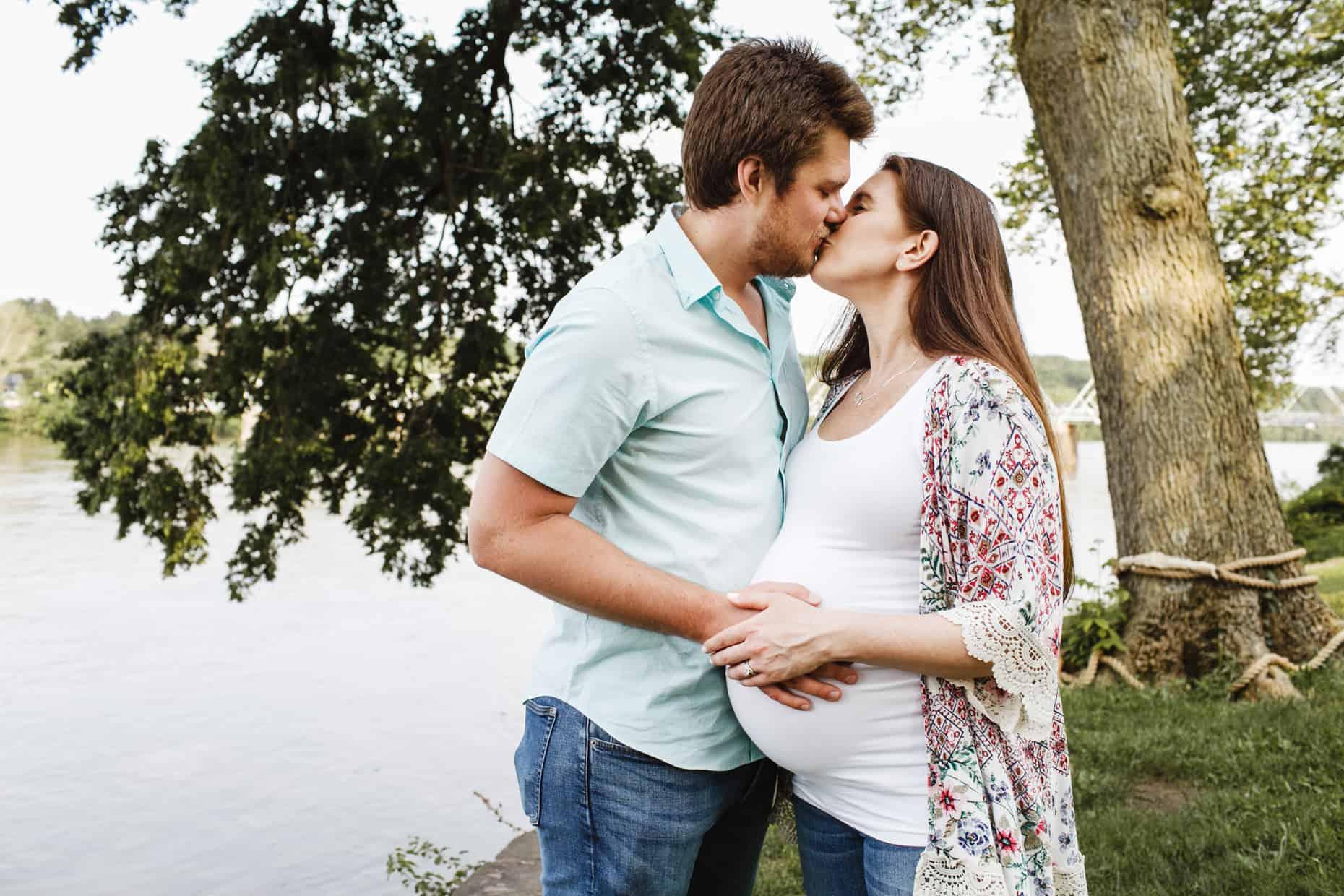 Bucks County Maternity Photo