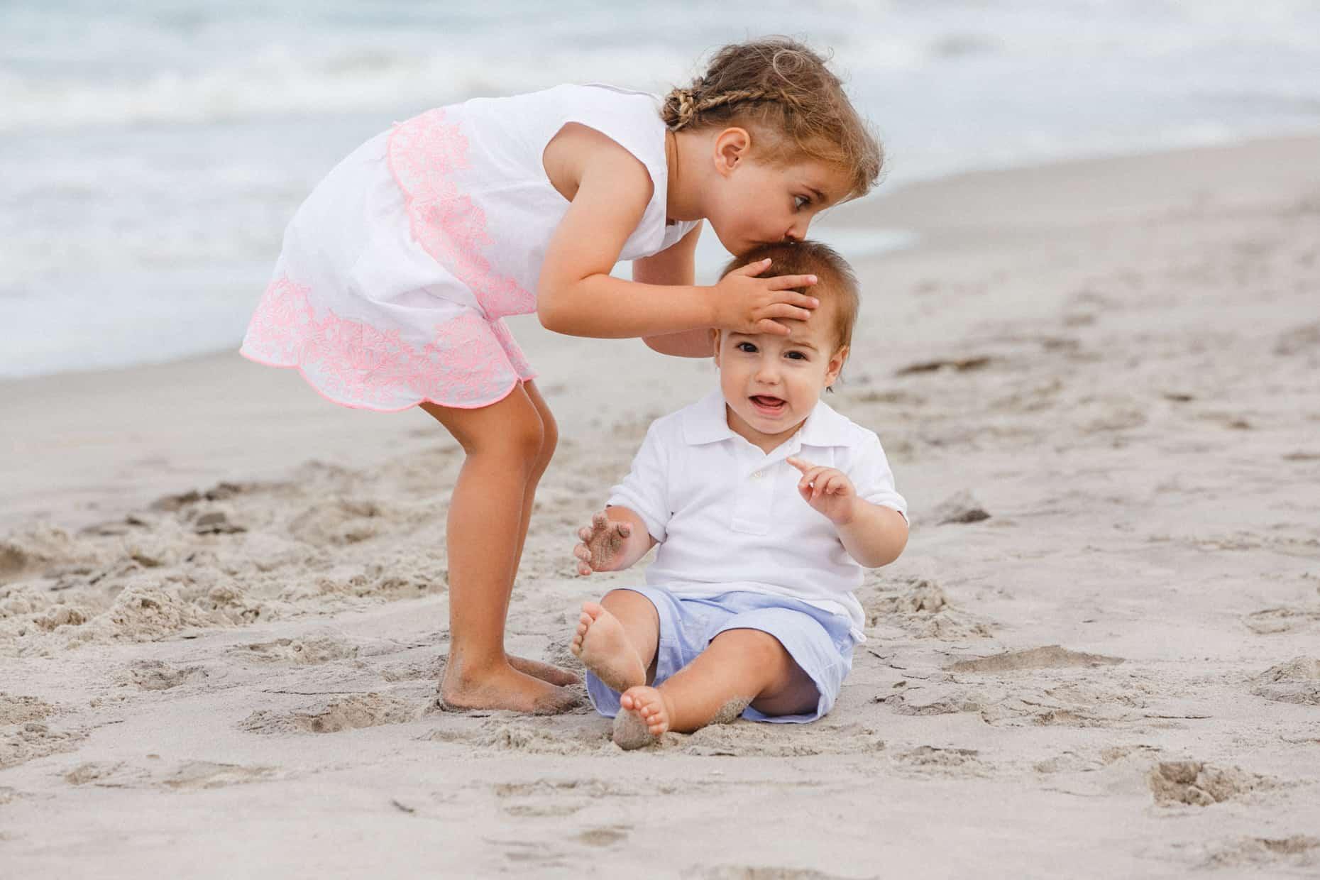 New Jersey family beach photos