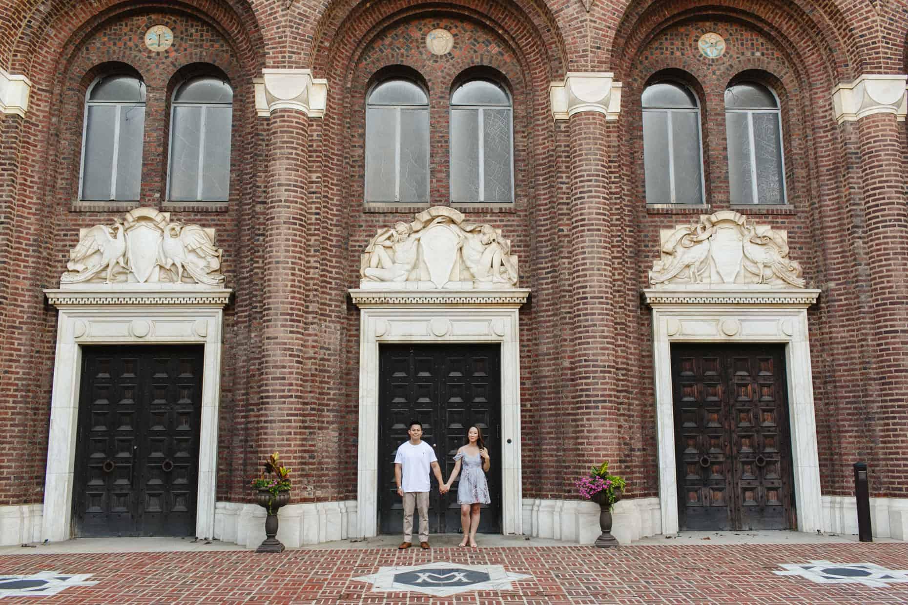 Penn Museum Engagement Photos
