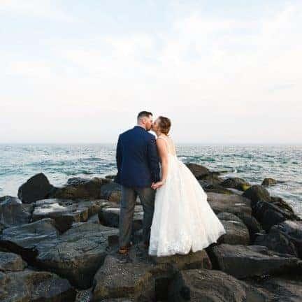 Beach Wedding Congress Hall Photos