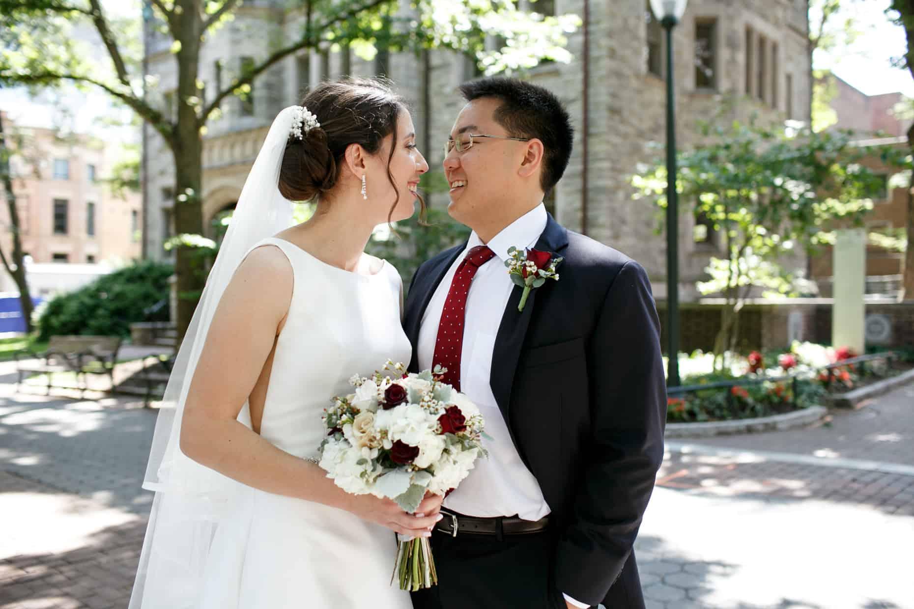 University of Penn Wedding Photos