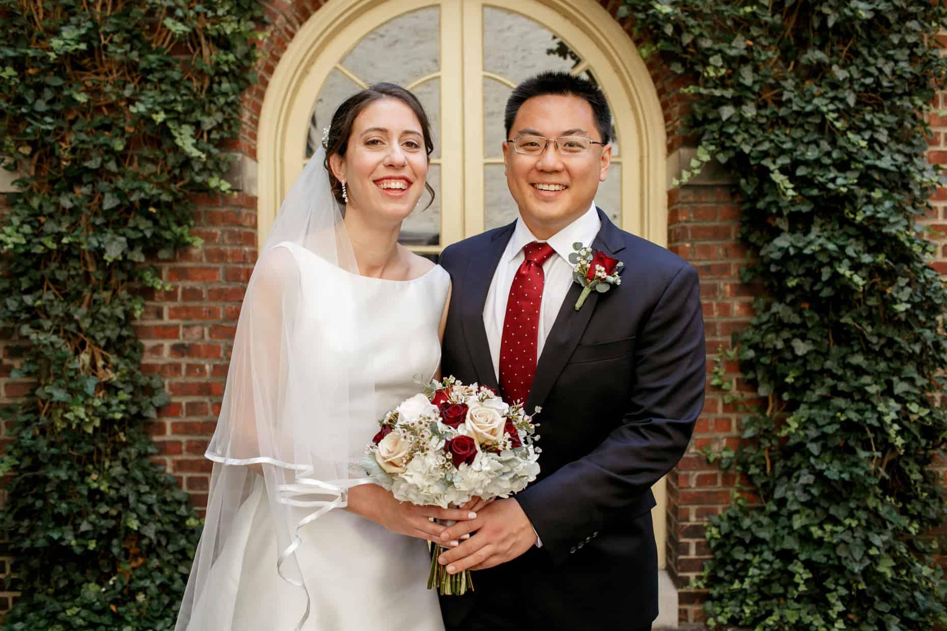 Colonial Dames Society wedding