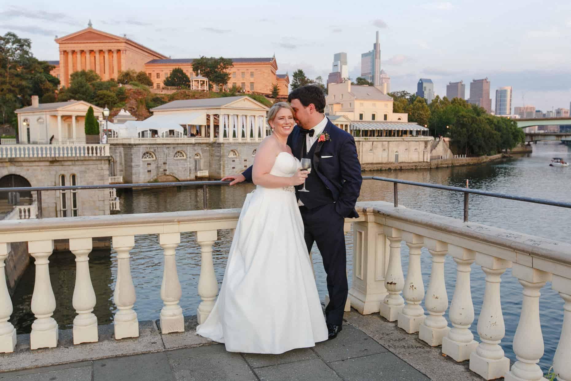 Philadelphia Boathouse Row Wedding